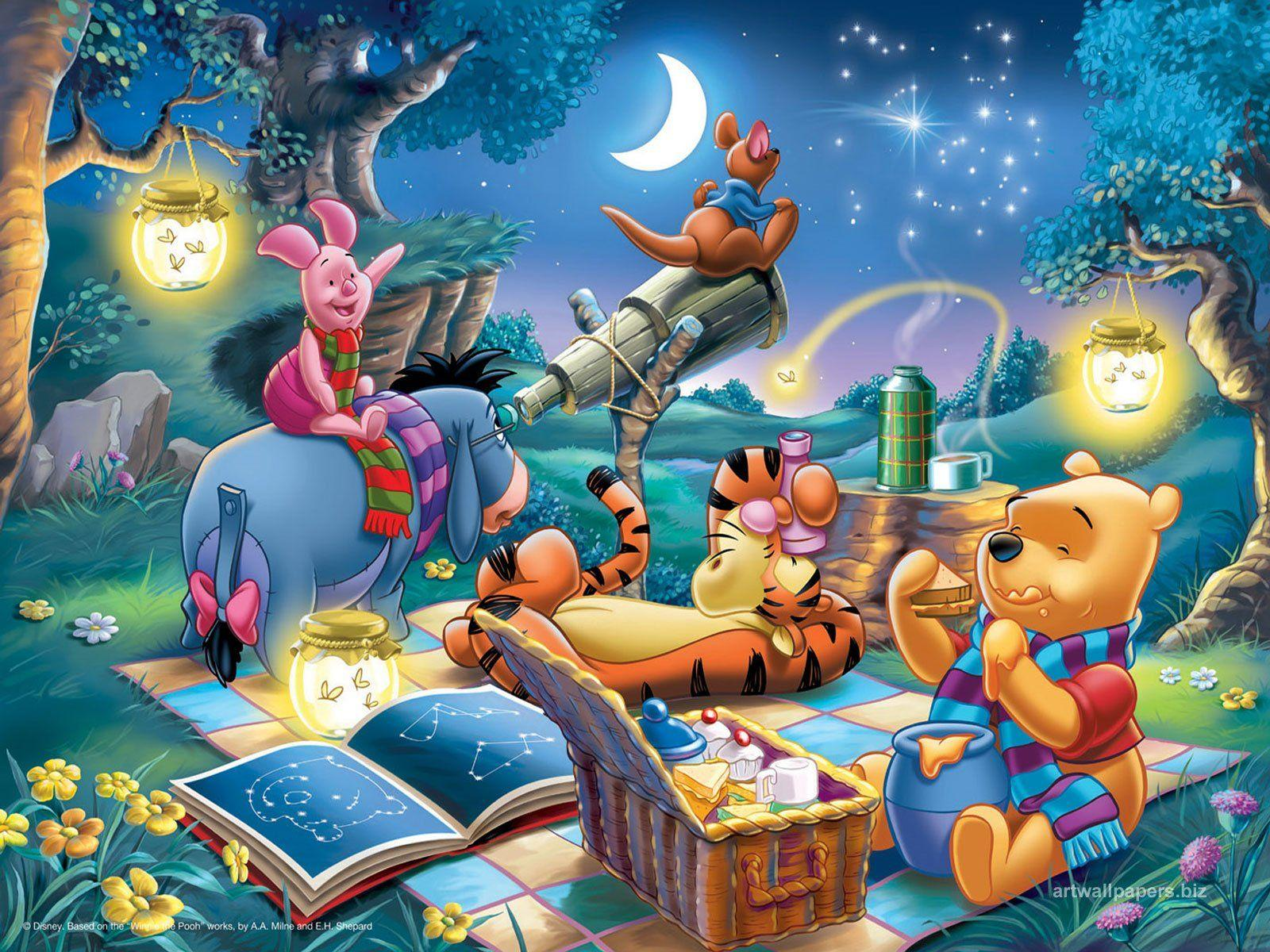 Winnie The Pooh Day Wallpapers Wallpaper Cave
