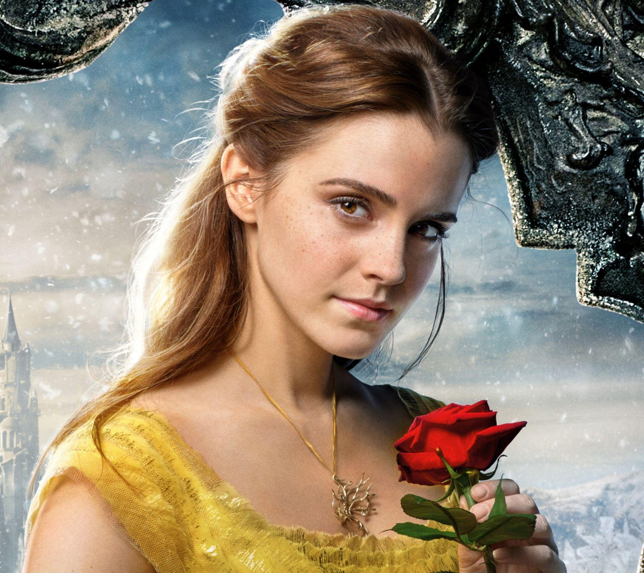 Beauty And The Beast Emma Watson Wallpapers