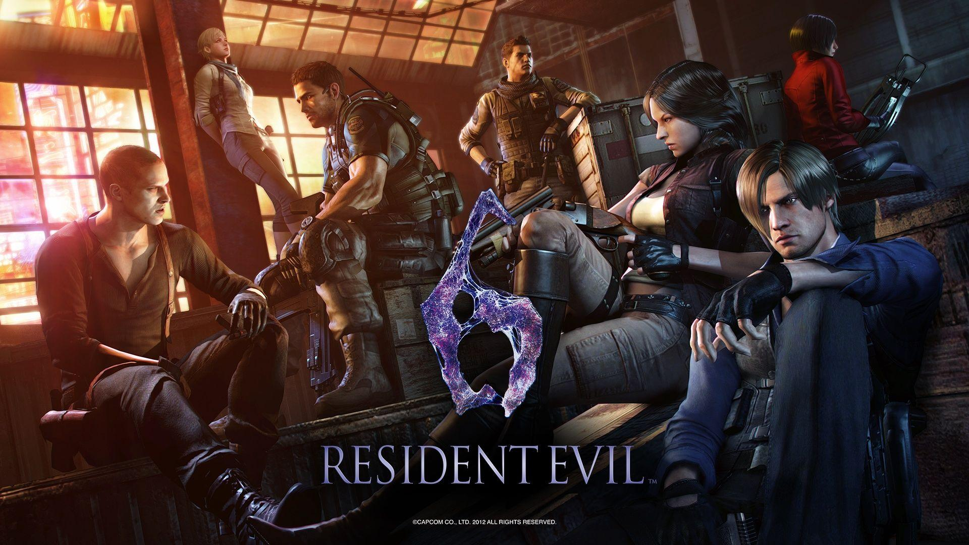 Resident Evil 6 Wallpapers Wallpaper Cave