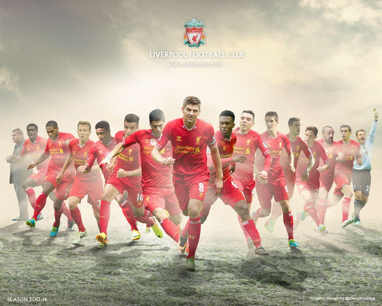 Liverpool Team Wallpapers Wallpaper Cave
