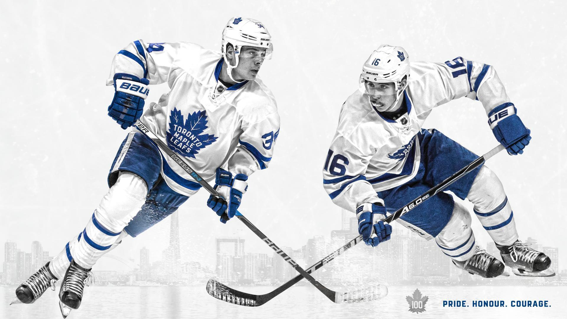 By request, here's a Matthews and Marner wallpaper! Happy