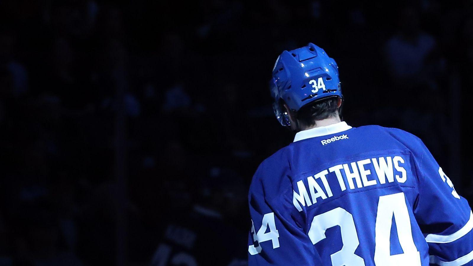 Auston Matthews was so good in Game 1 of the season he got the B's