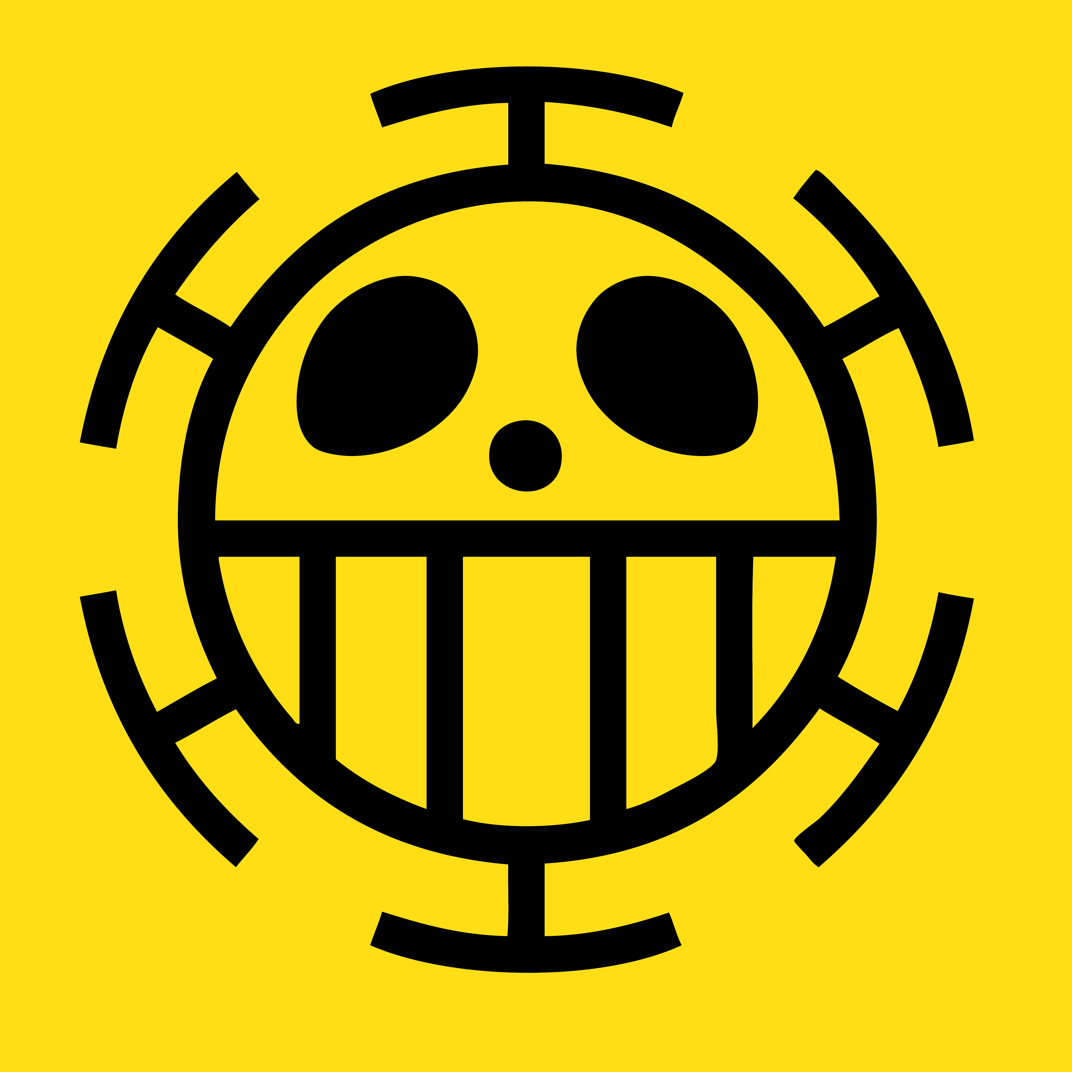 One piece pirate logo wallpaper