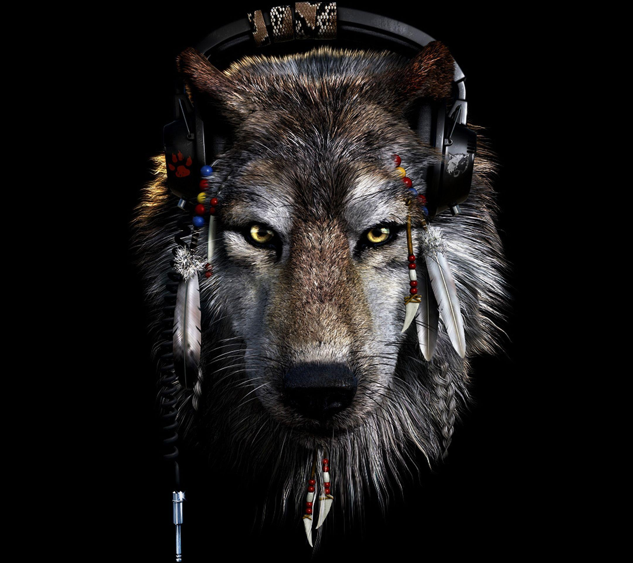 Dark Wolf Wallpapers Wallpapers