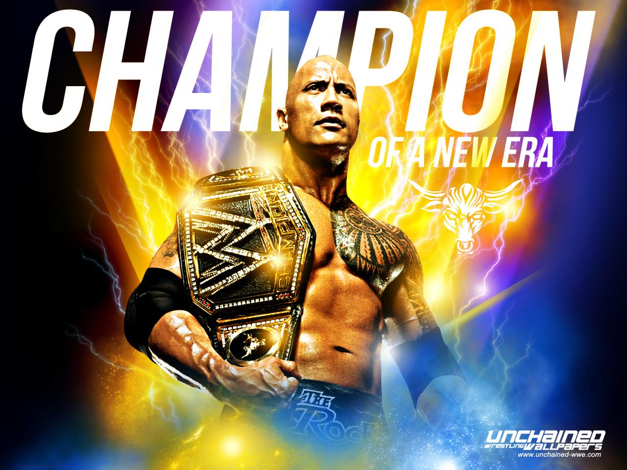 WWE image The Rock