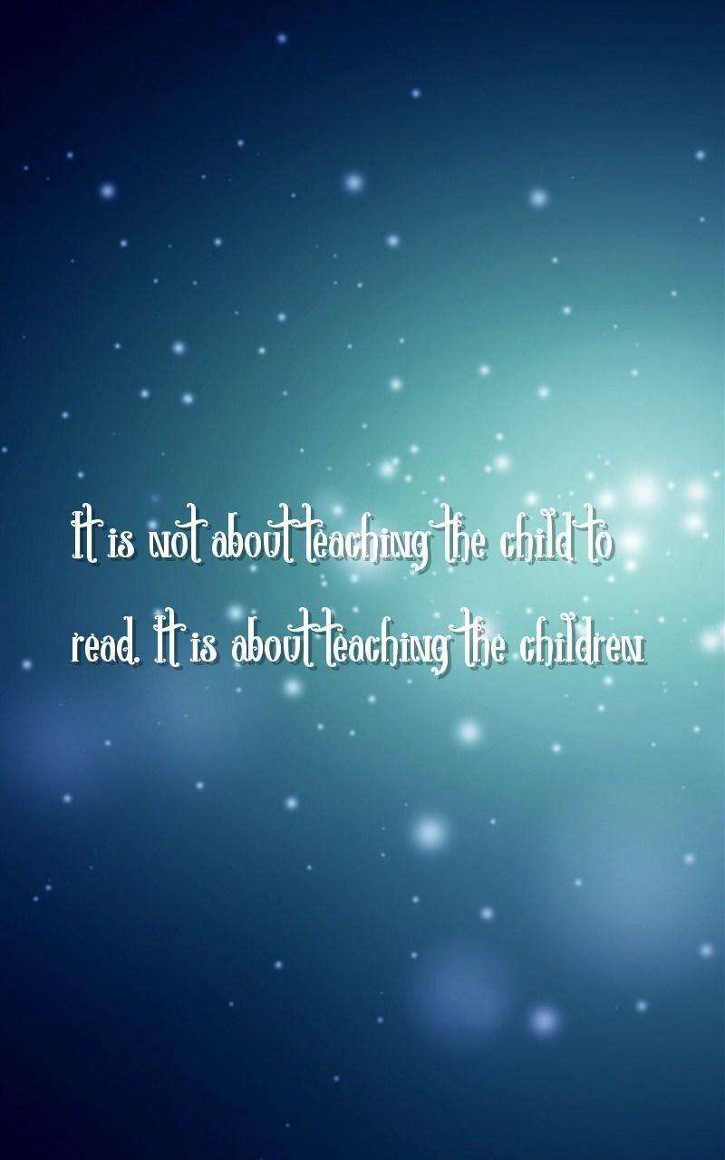 Quotes About Teaching Children Teaching Wallpapers  Wallpaper Cave