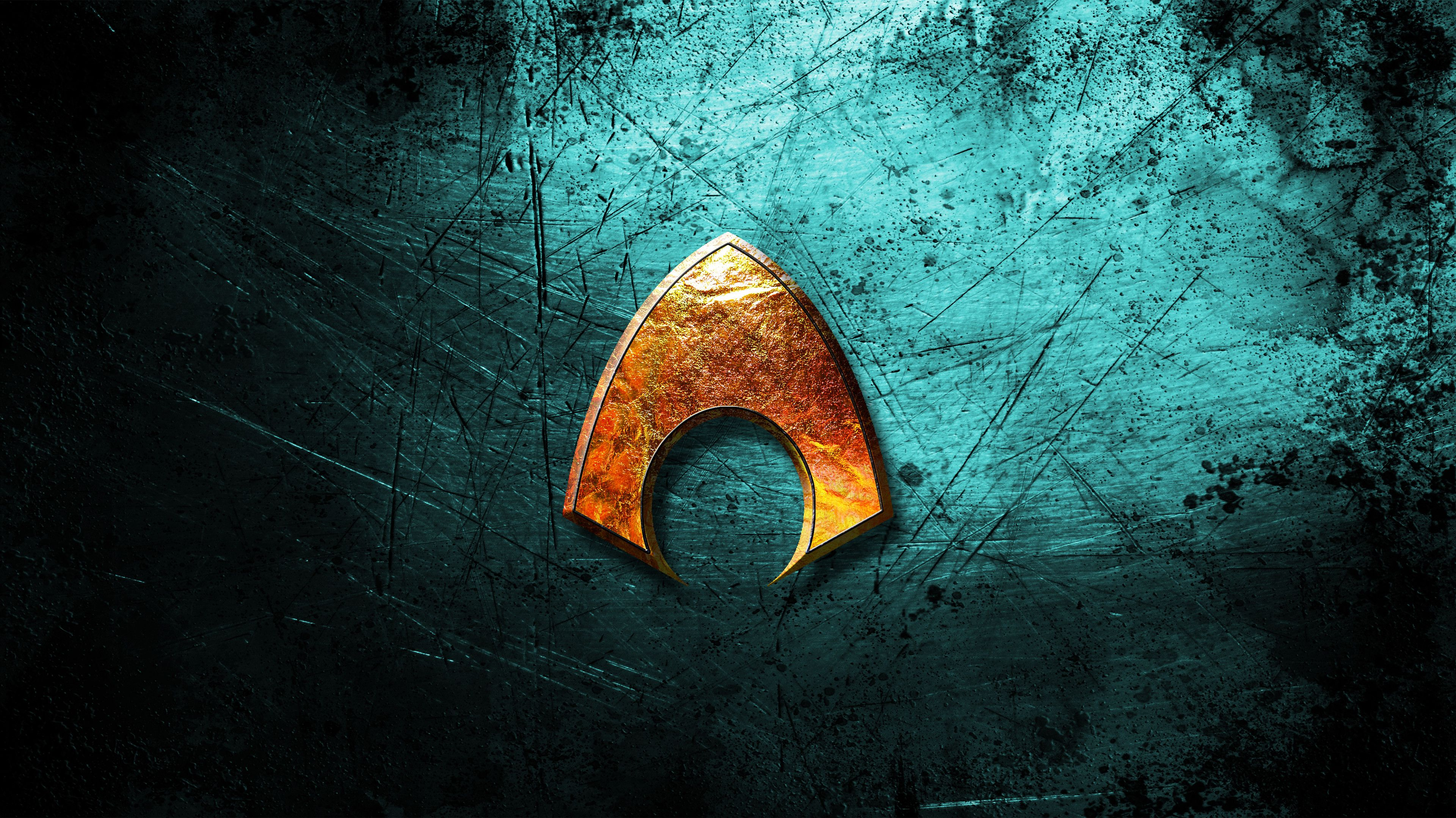 Aquaman Logo Wallpapers Wallpaper Cave