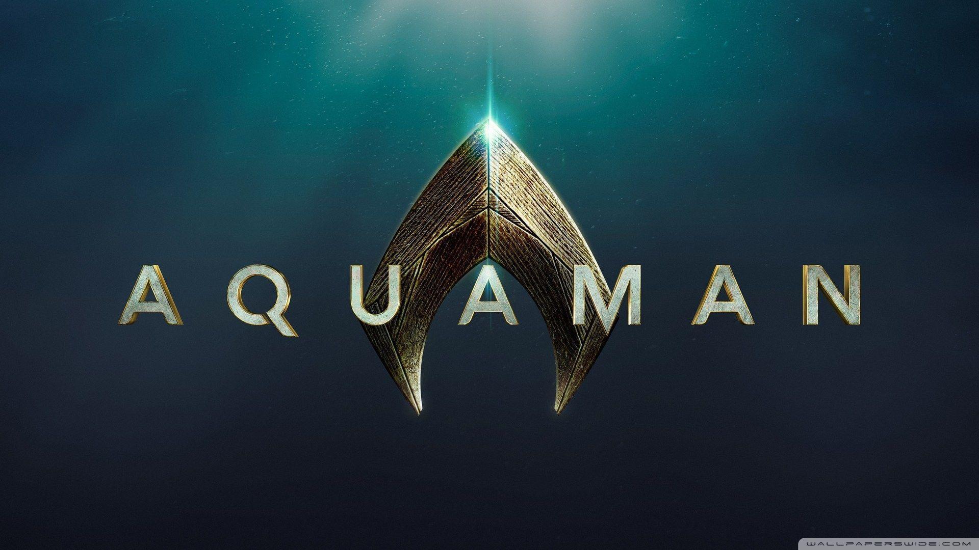 Aquaman Logo Wallpapers Wallpaper Cave