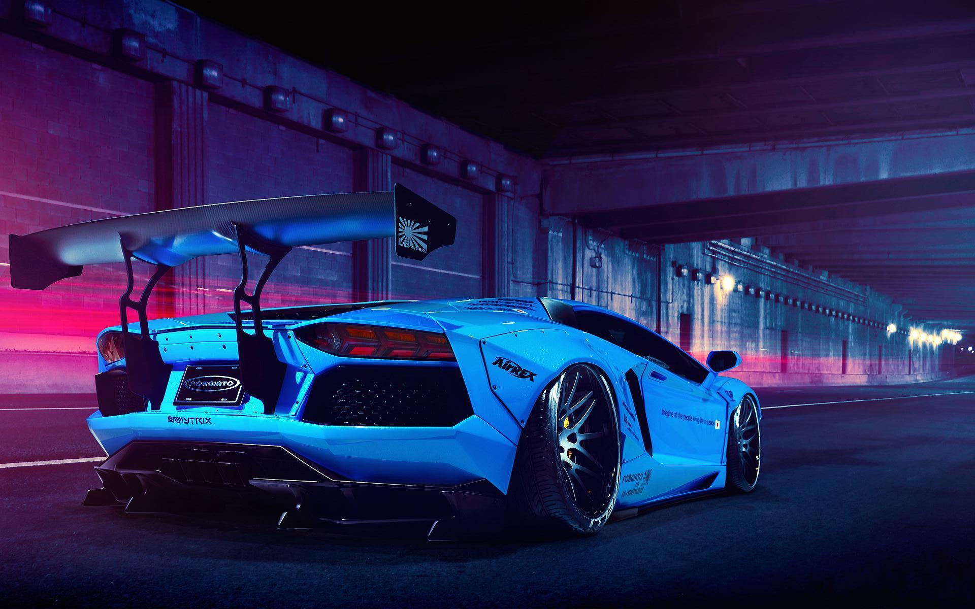 Blue Lamborghini Wallpapers - Wallpaper Cave