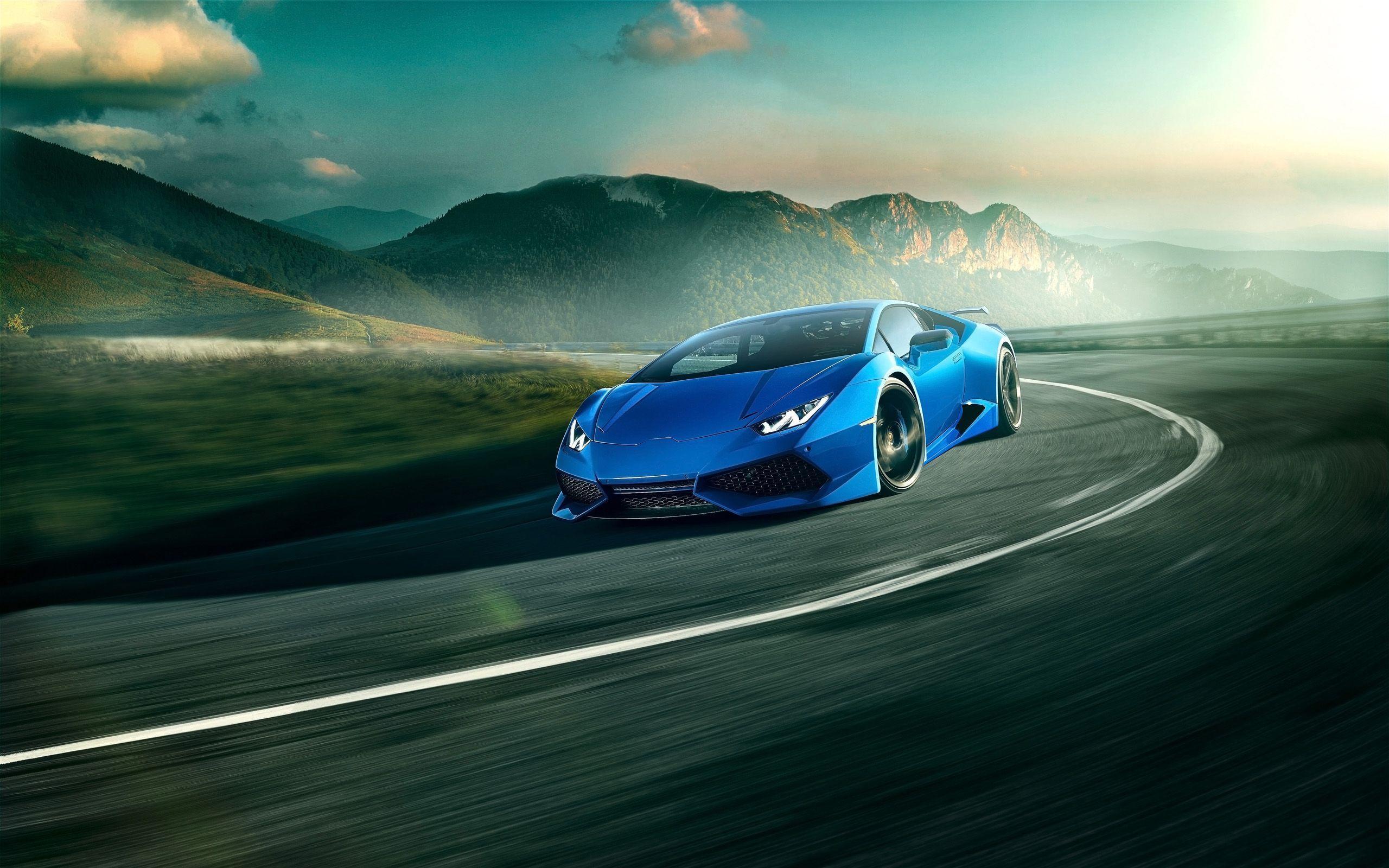 Blue Lamborghini Wallpapers Wallpaper Cave