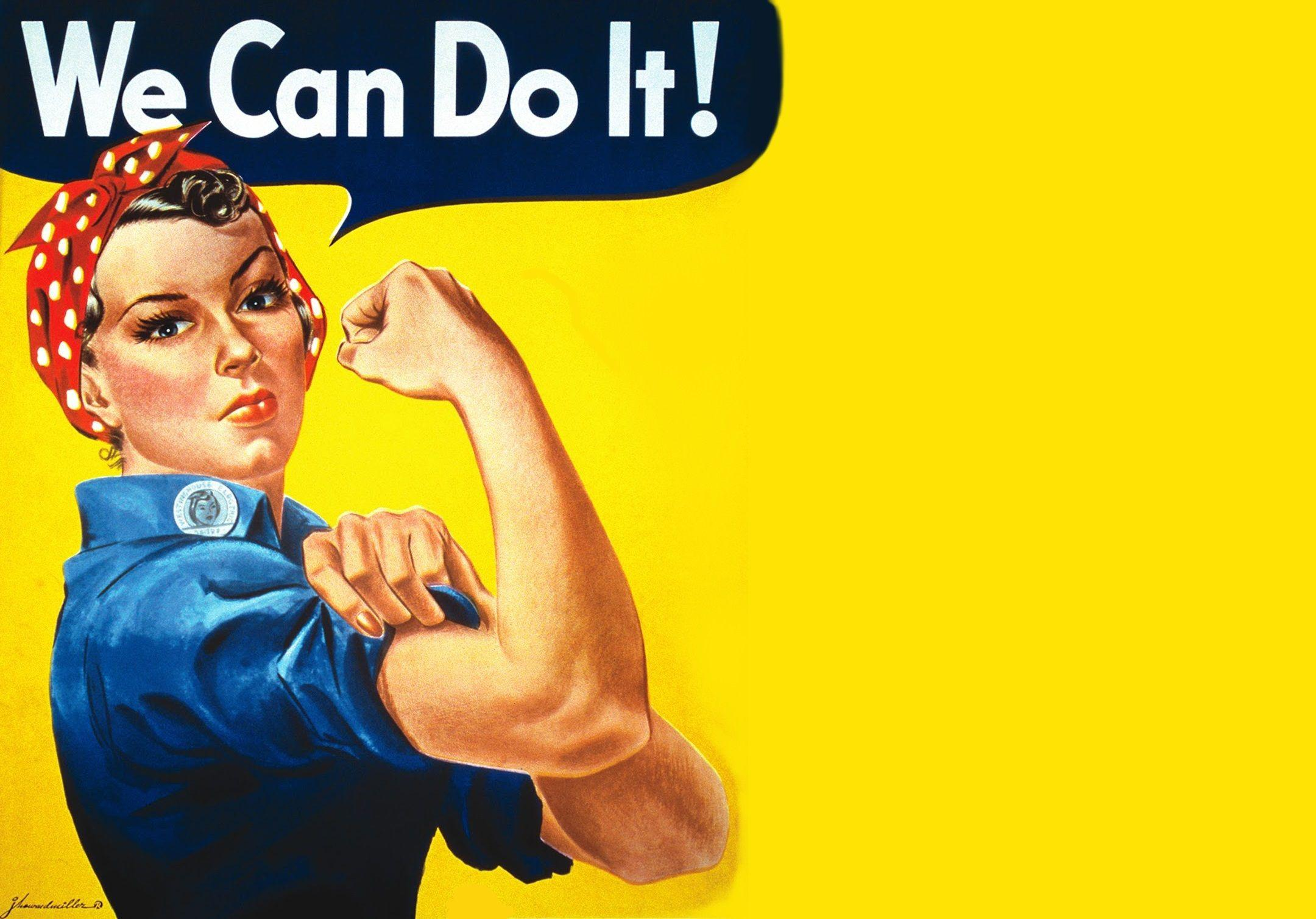 Rosie The Riveter Wallpaper I Made 2100x1500 Wallpapers