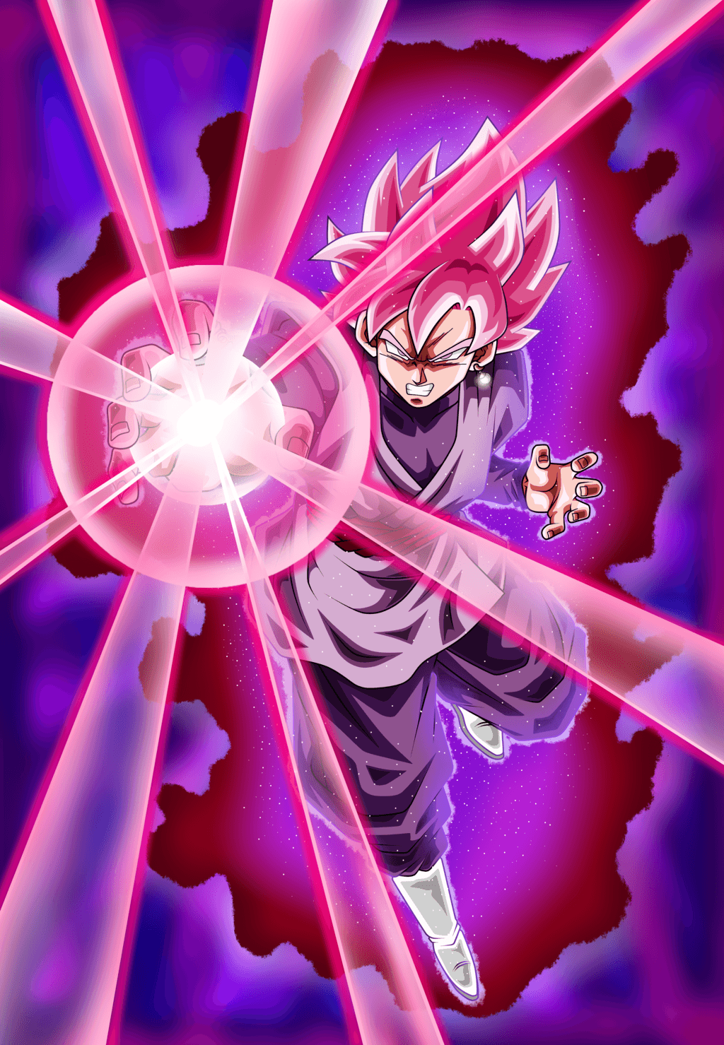 Goku Black Rose Wallpapers Wallpaper Cave