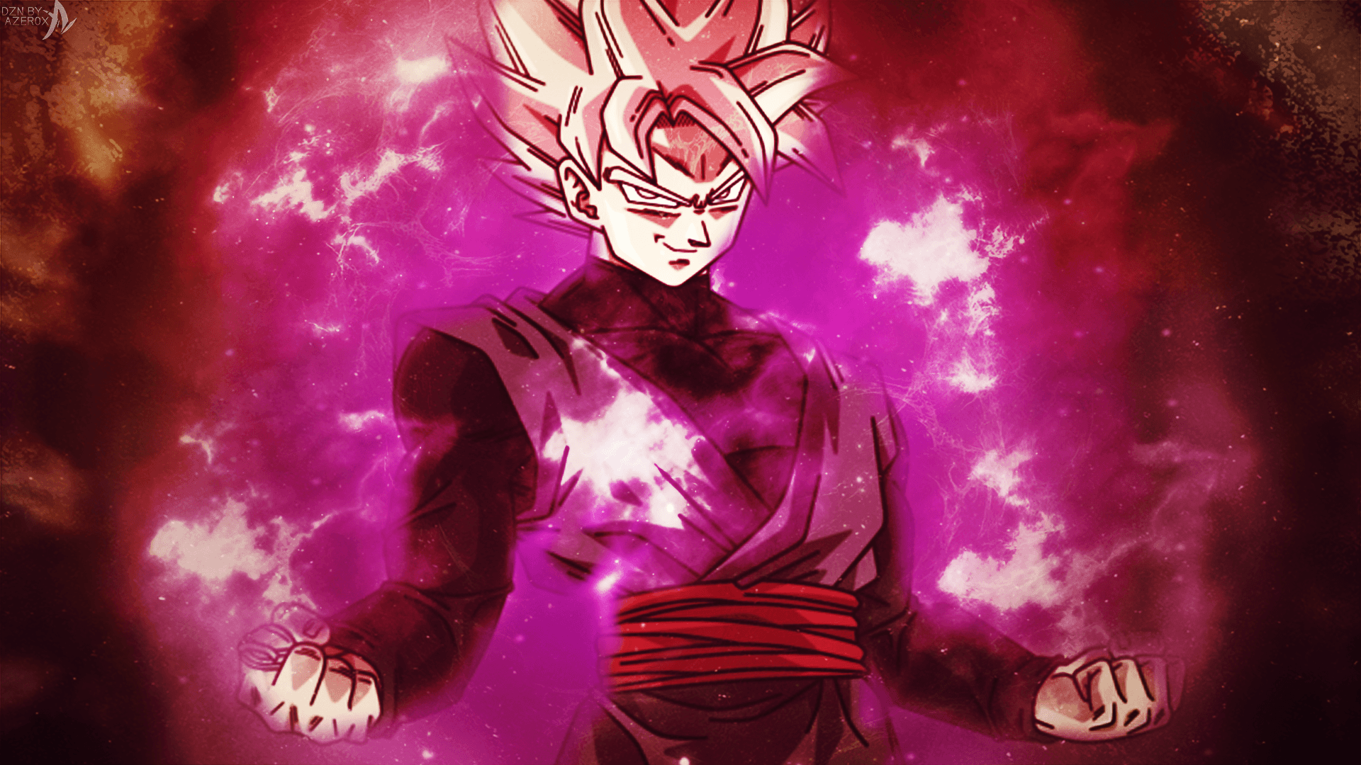 Super Saiyan Rose Goku Black Wallpaper: Goku Black Rose Wallpapers