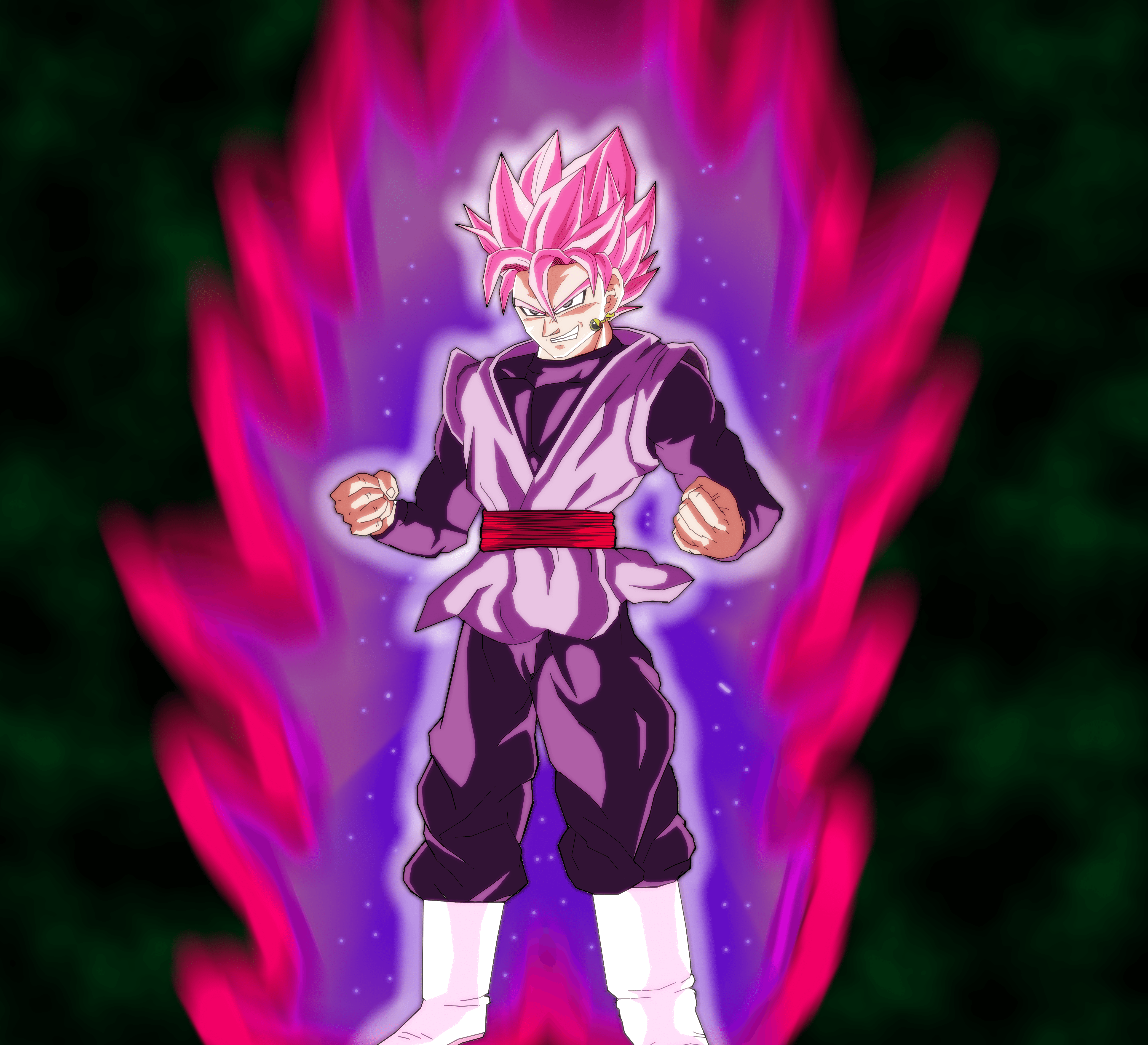 Goku Black SSJ rose Wallpapers *Updated* by Arguvandal