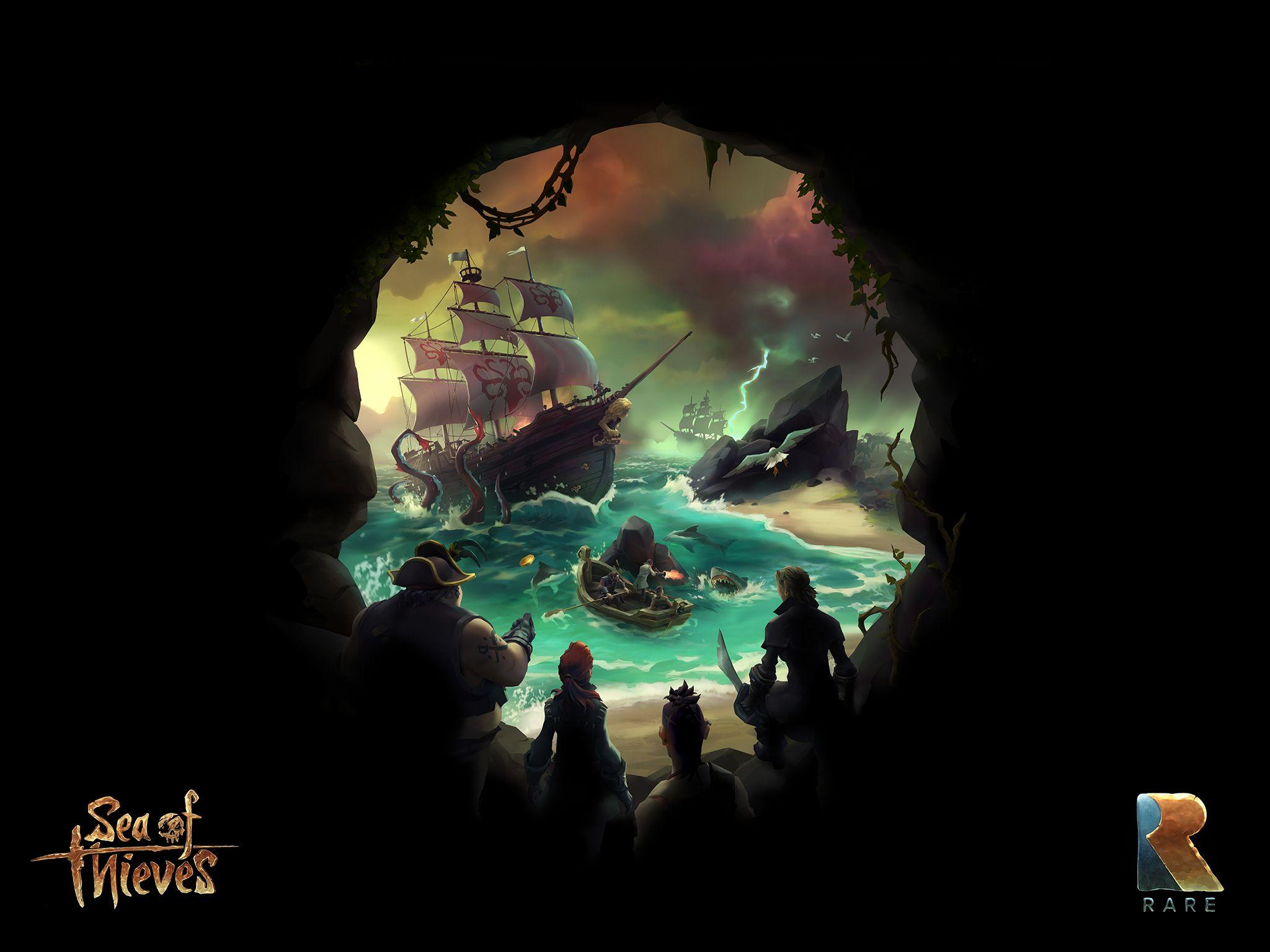 Sea Of Thieves Wallpapers Wallpaper Cave