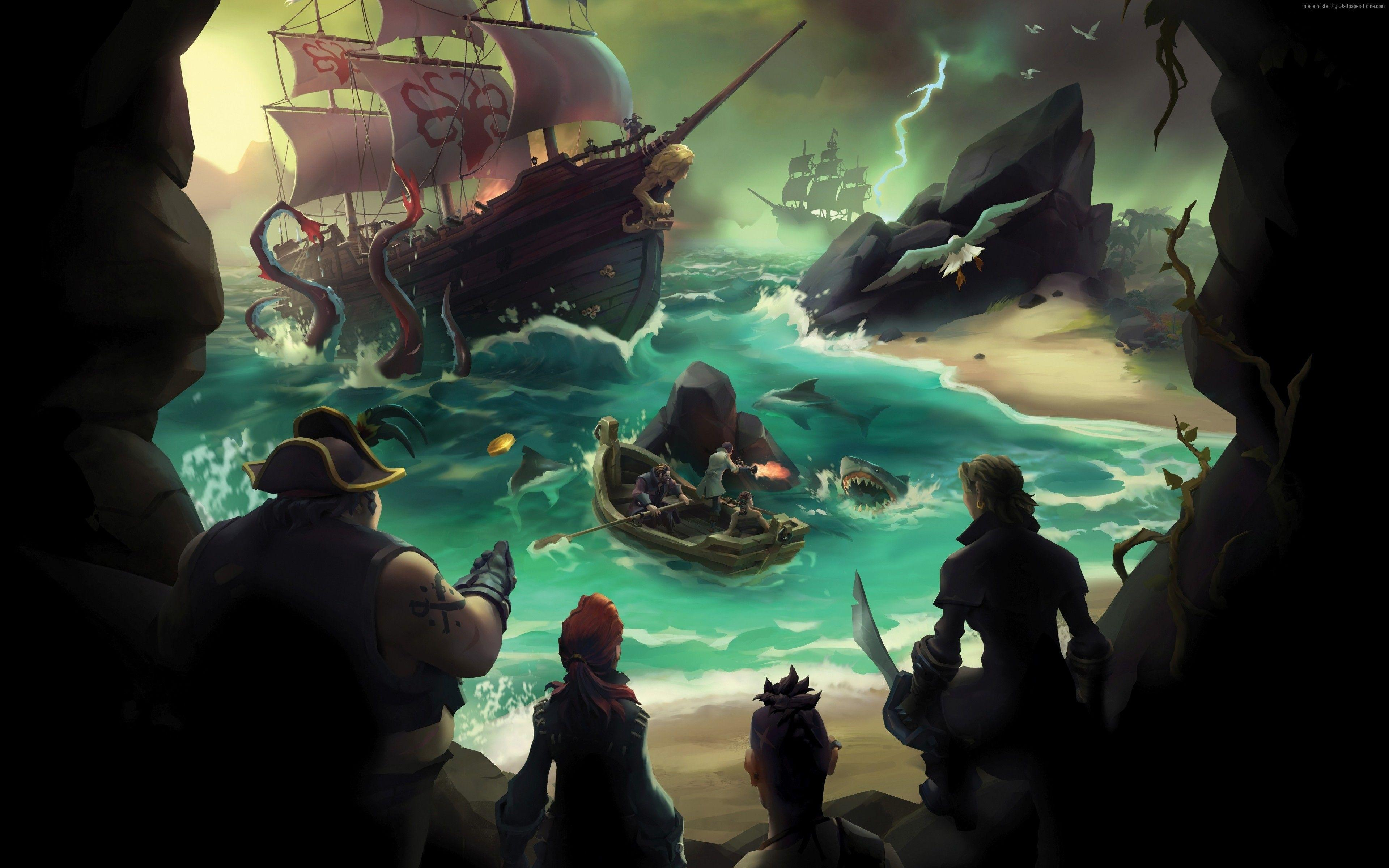 Sea Of Thieves Wallpapers - Wallpaper Cave