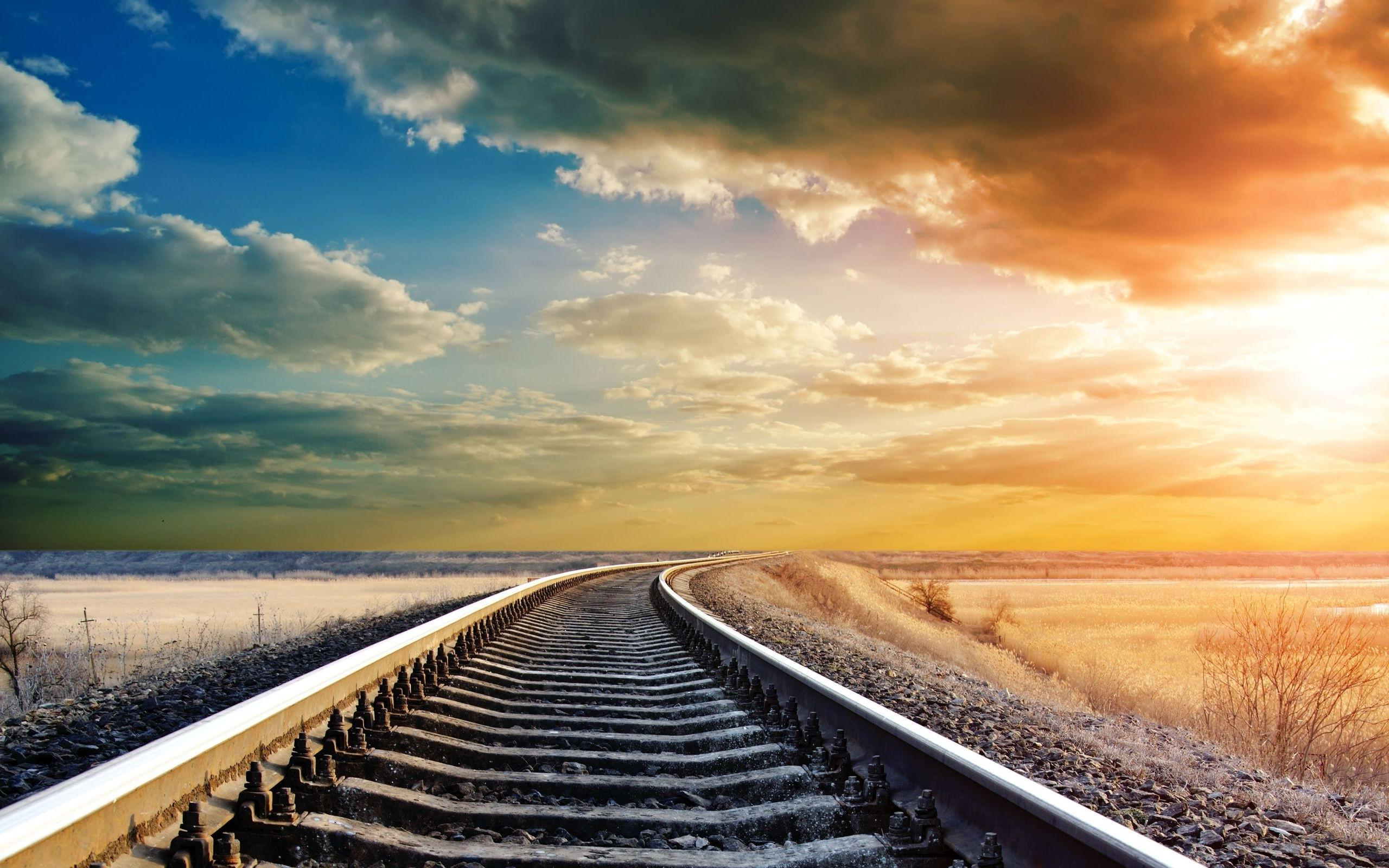 Rail Track Wallpapers