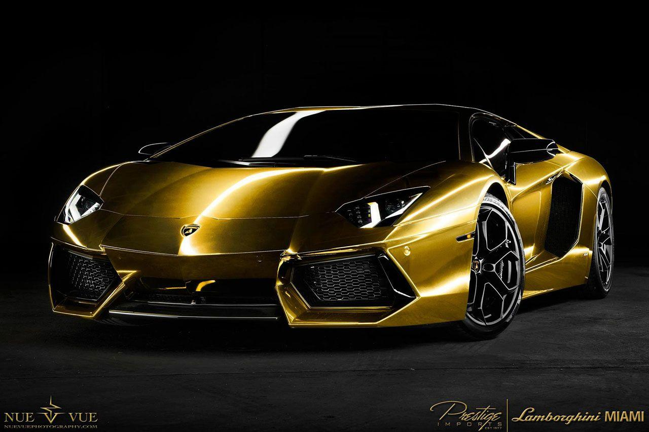 Gold Lamborghini Wallpapers Wallpaper Cave