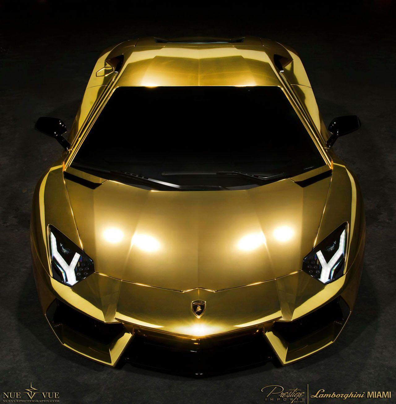Gold Lamborghini Wallpapers