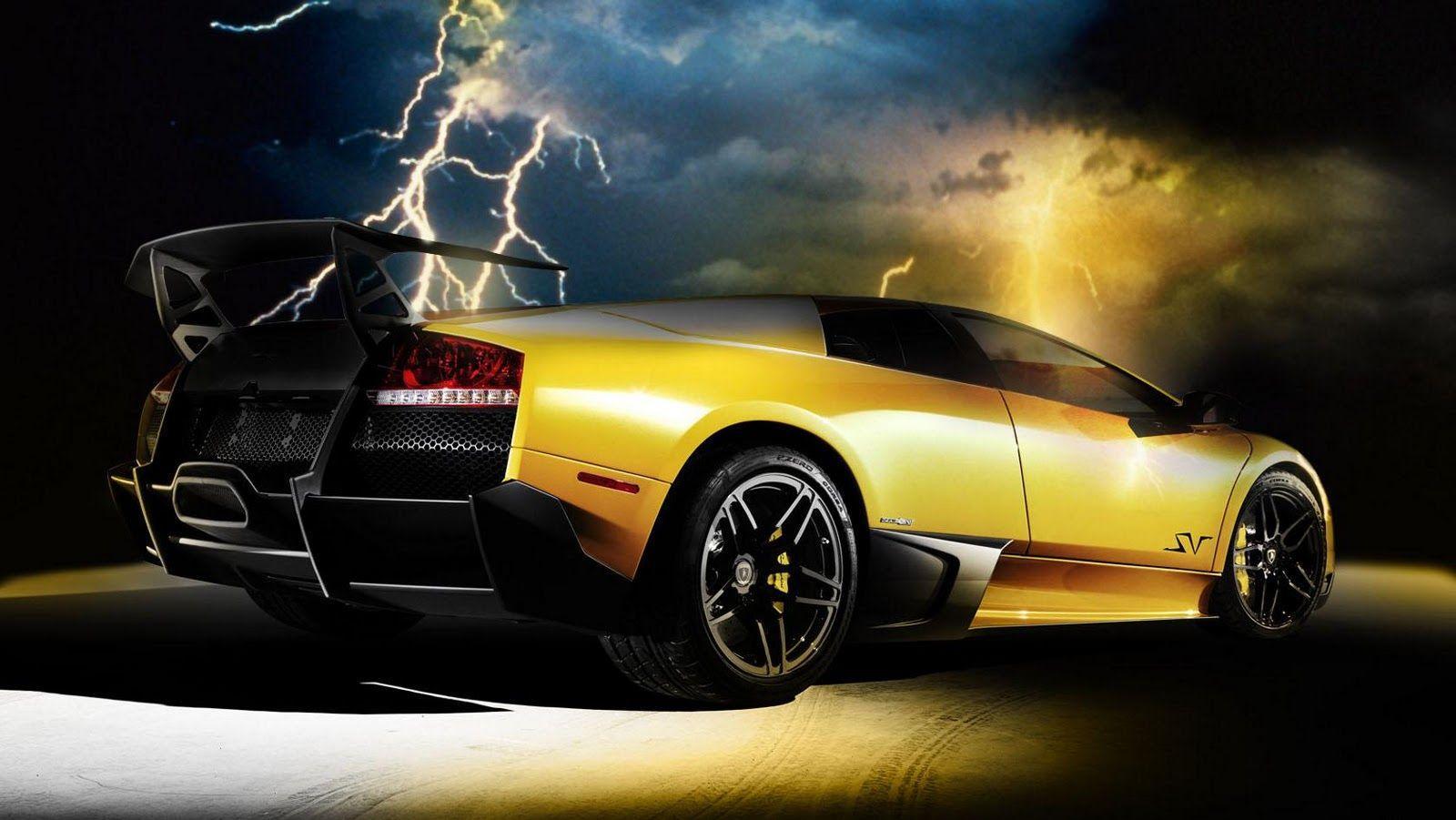 Gold Lamborghini Wallpapers Wallpaper Cave