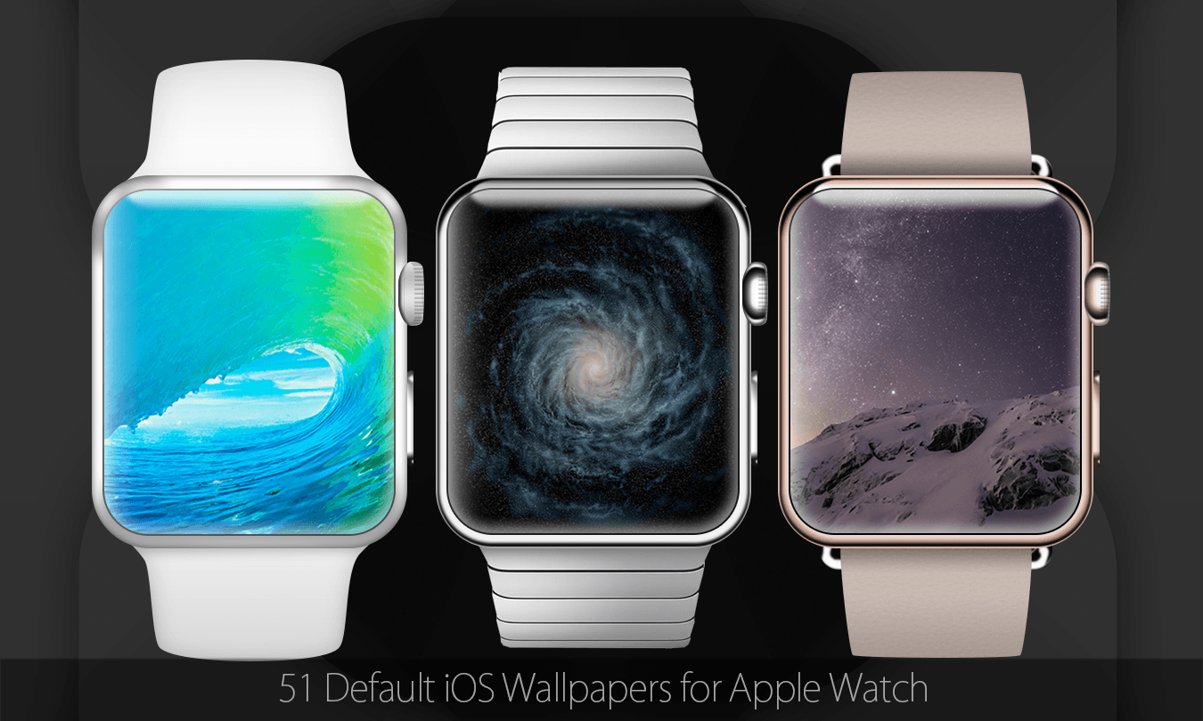 iOS Wallpapers for Apple Watch by iAR7
