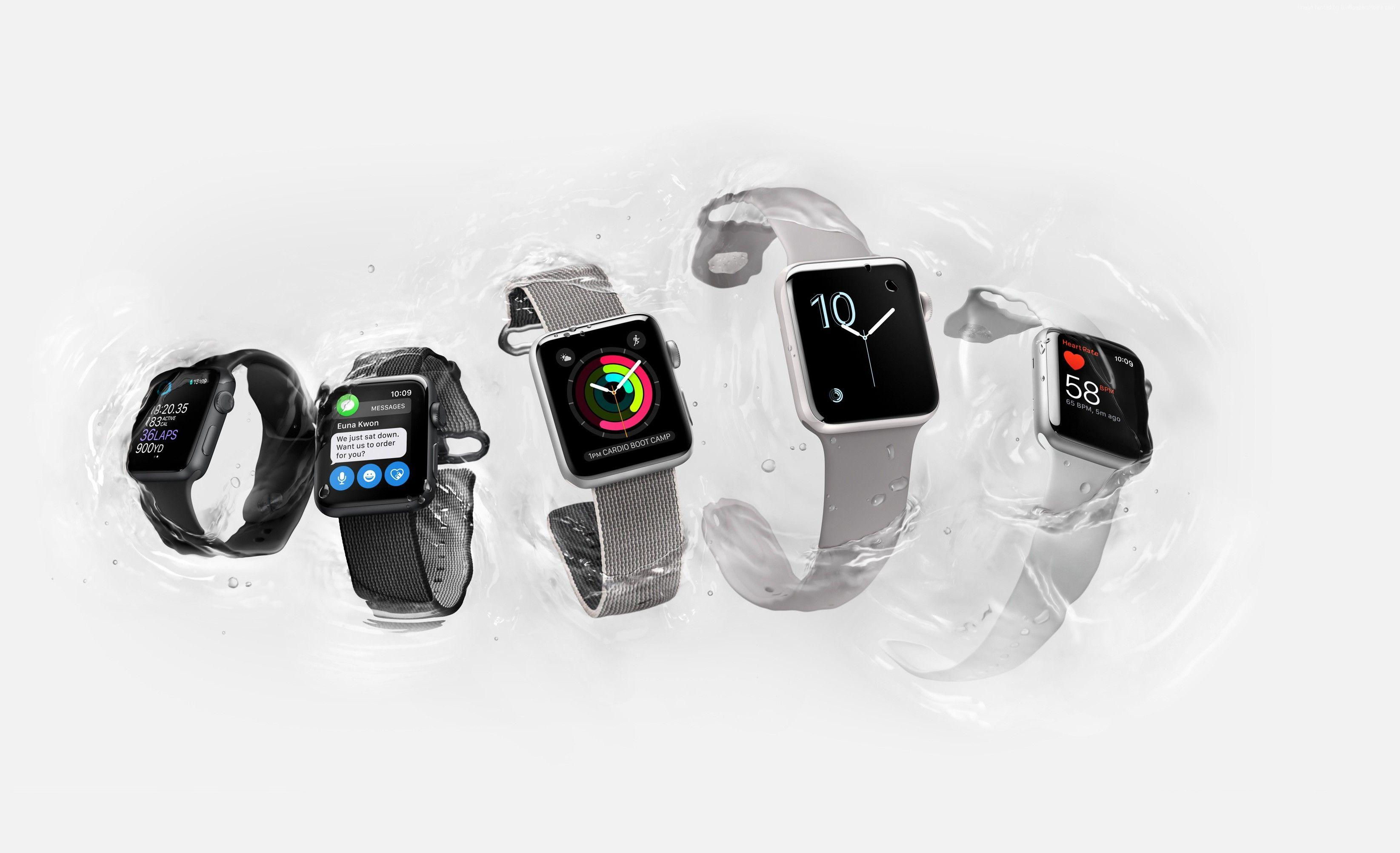 Wallpapers Apple Watch Series 2, smart watch, iWatch, wallpapers