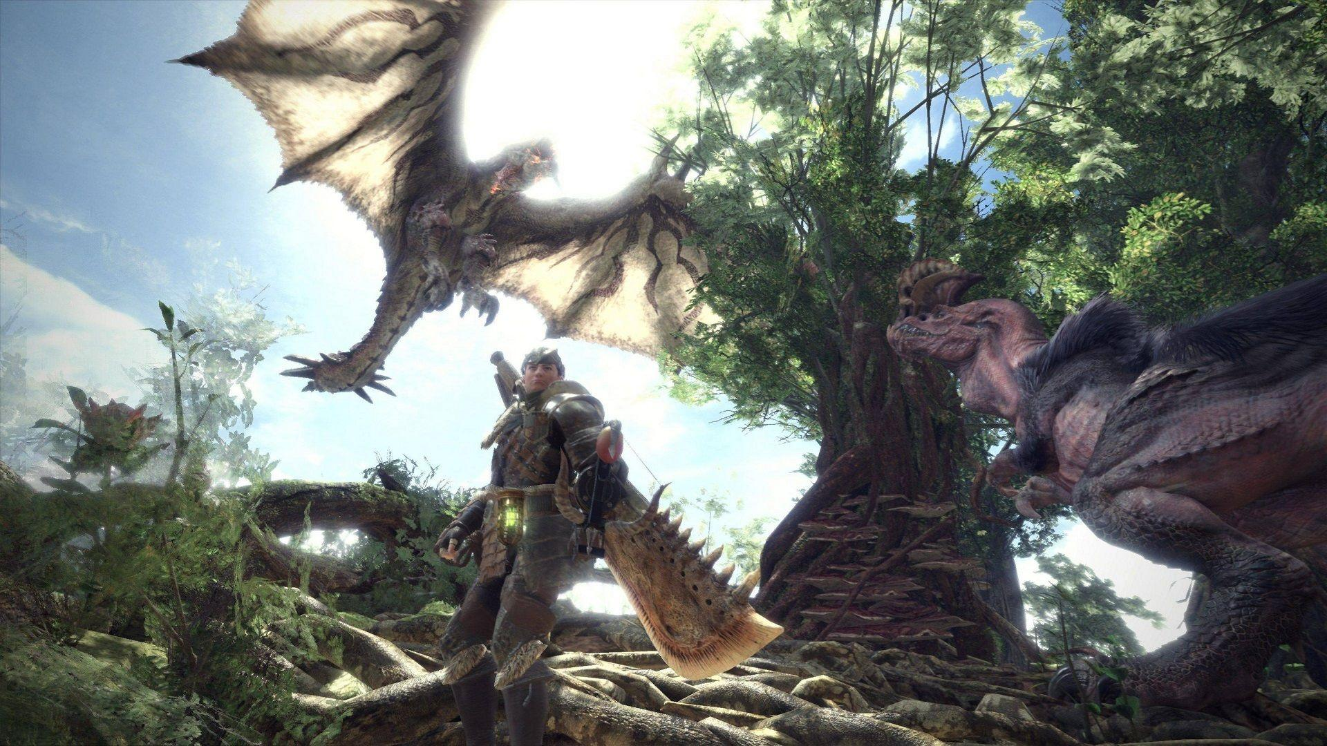 Monster Hunter World Wallpapers Wallpaper Cave
