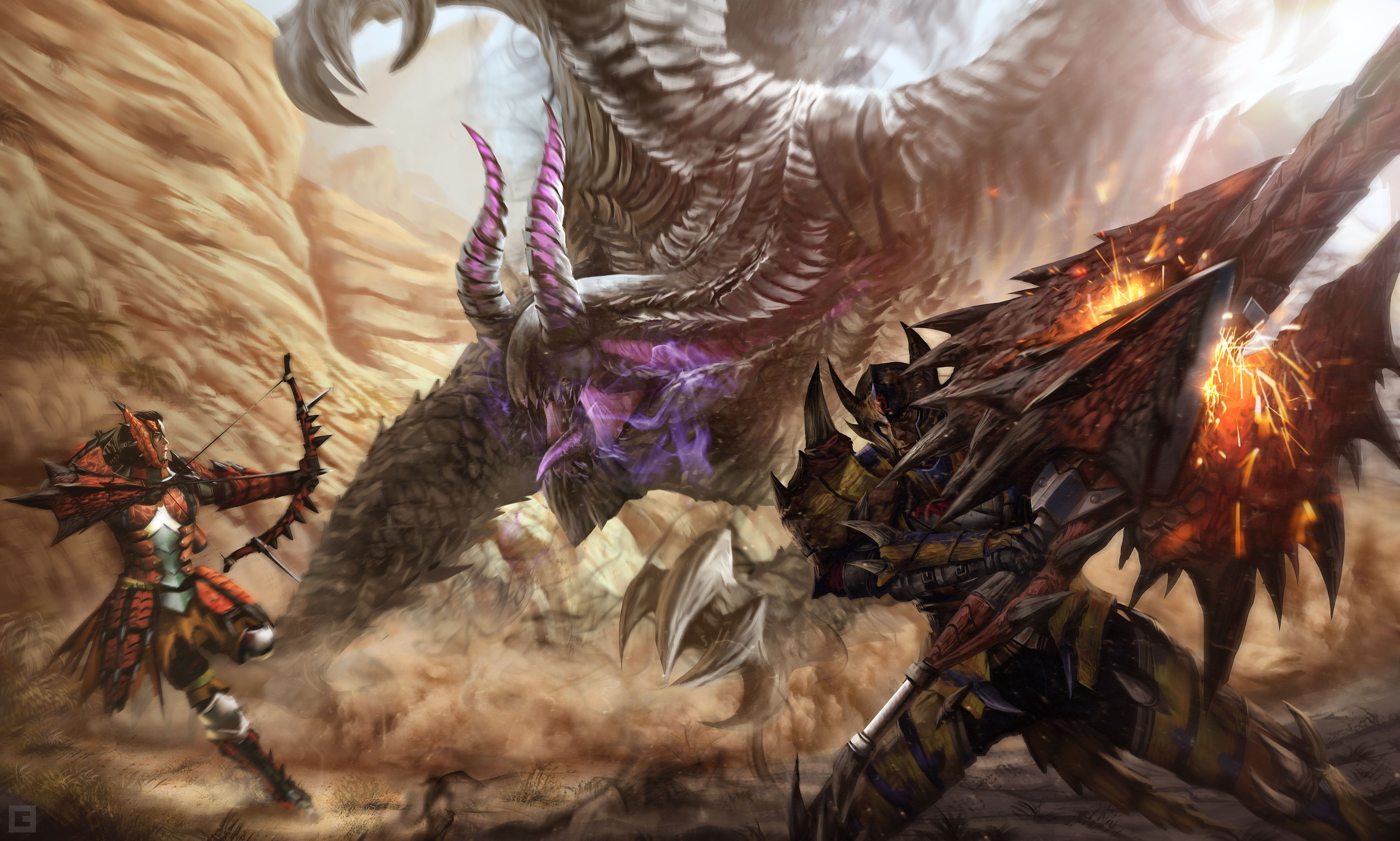 5 Monster Hunter 4 Ultimate HD Wallpapers
