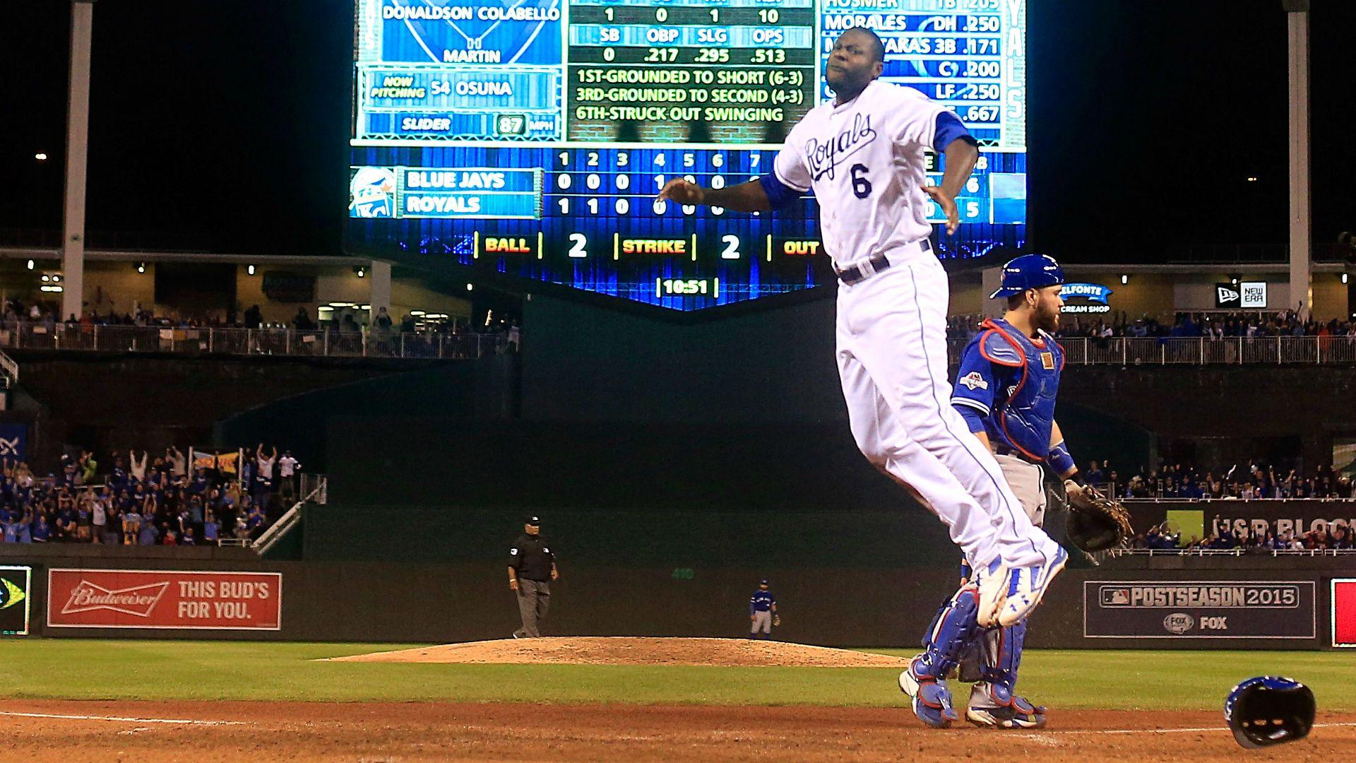 ALCS 2015: Cain's dash helps Royals clinch title, again | MLB ...