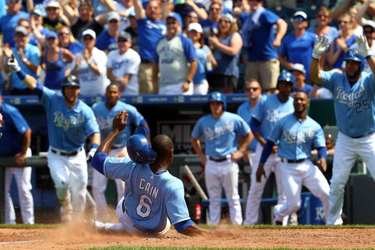 Getting filthy with Lorenzo Cain - Royals Review