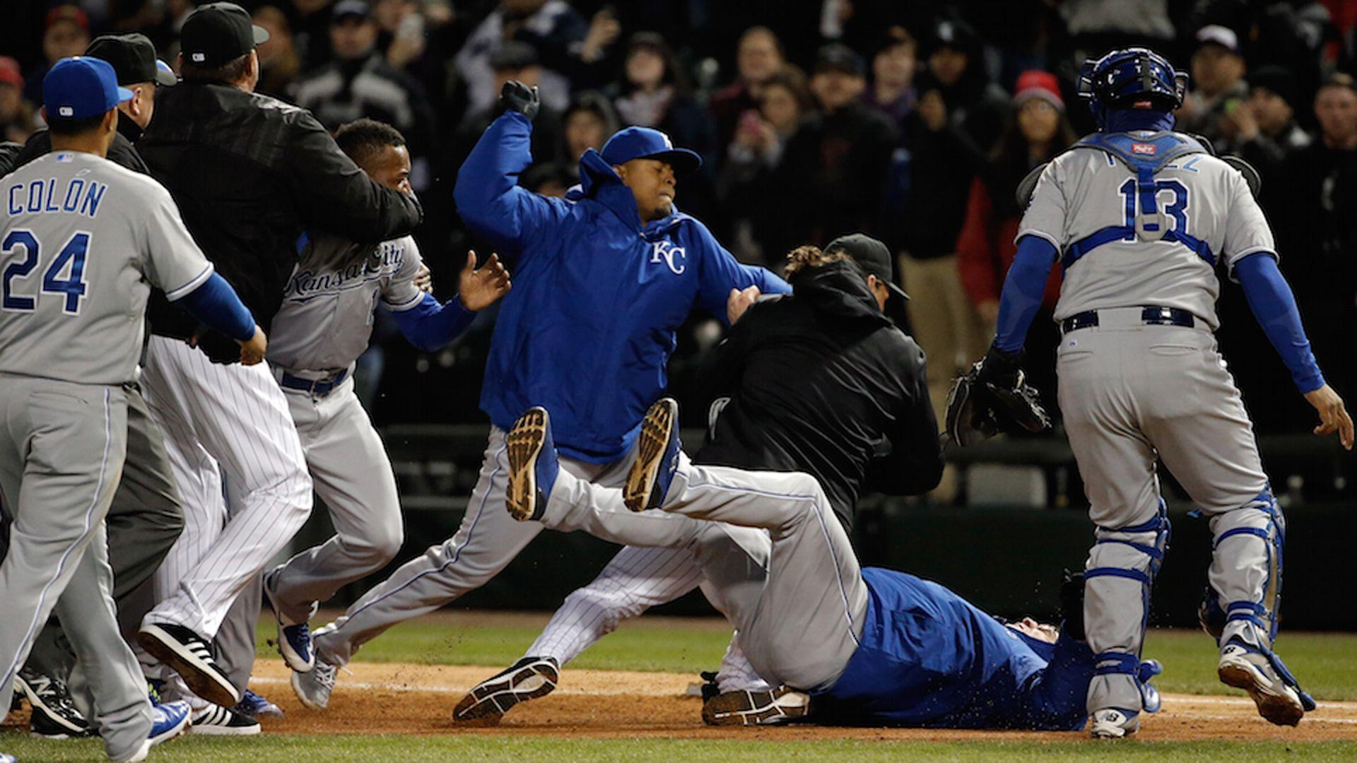 Yordano Ventura sparks another Royals brawl, this time with White ...
