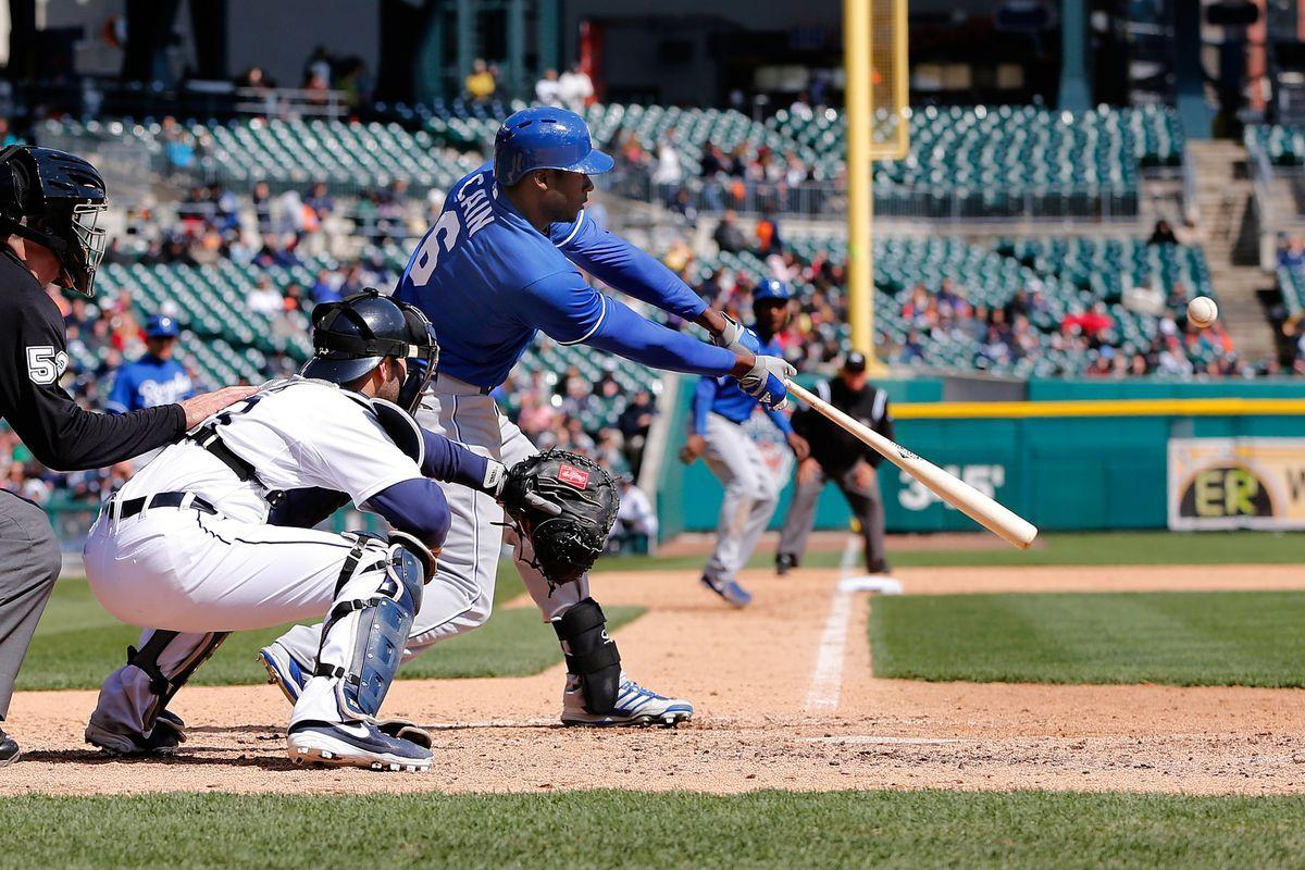 GIF of the Day: Torii Hunter tries to dupe Lorenzo Cain on routine ...