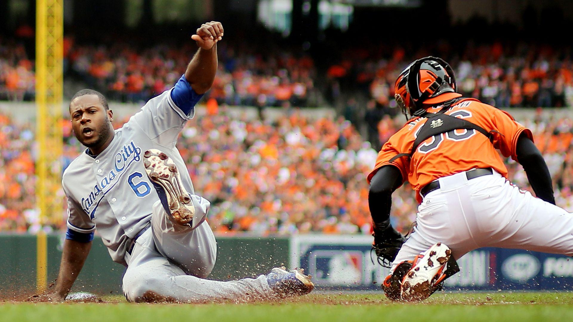 ALCS Game 2: Cain raises Royals by matching Brett, snatching ...