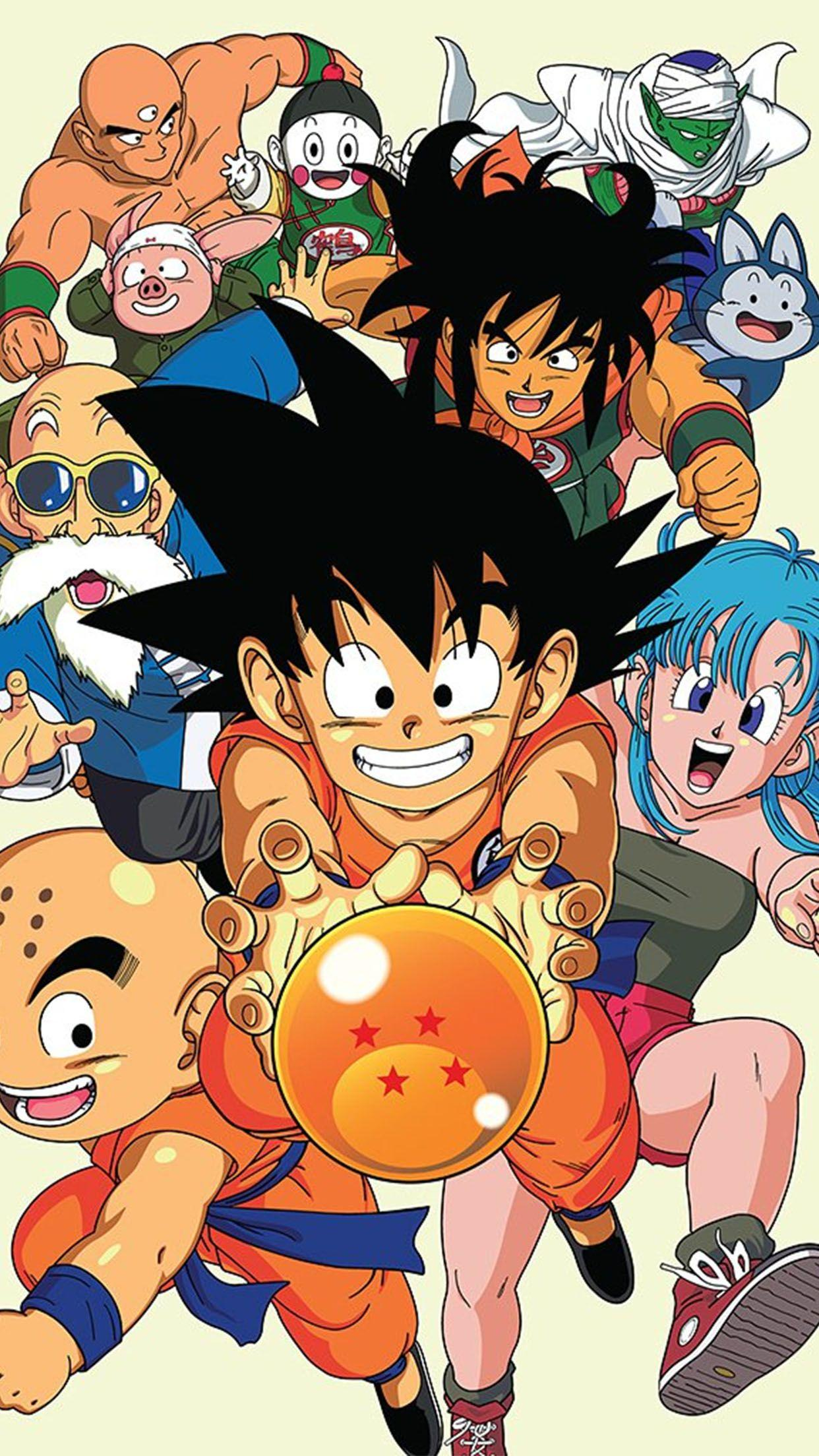 Dbz Family Wallpapers Wallpaper Cave