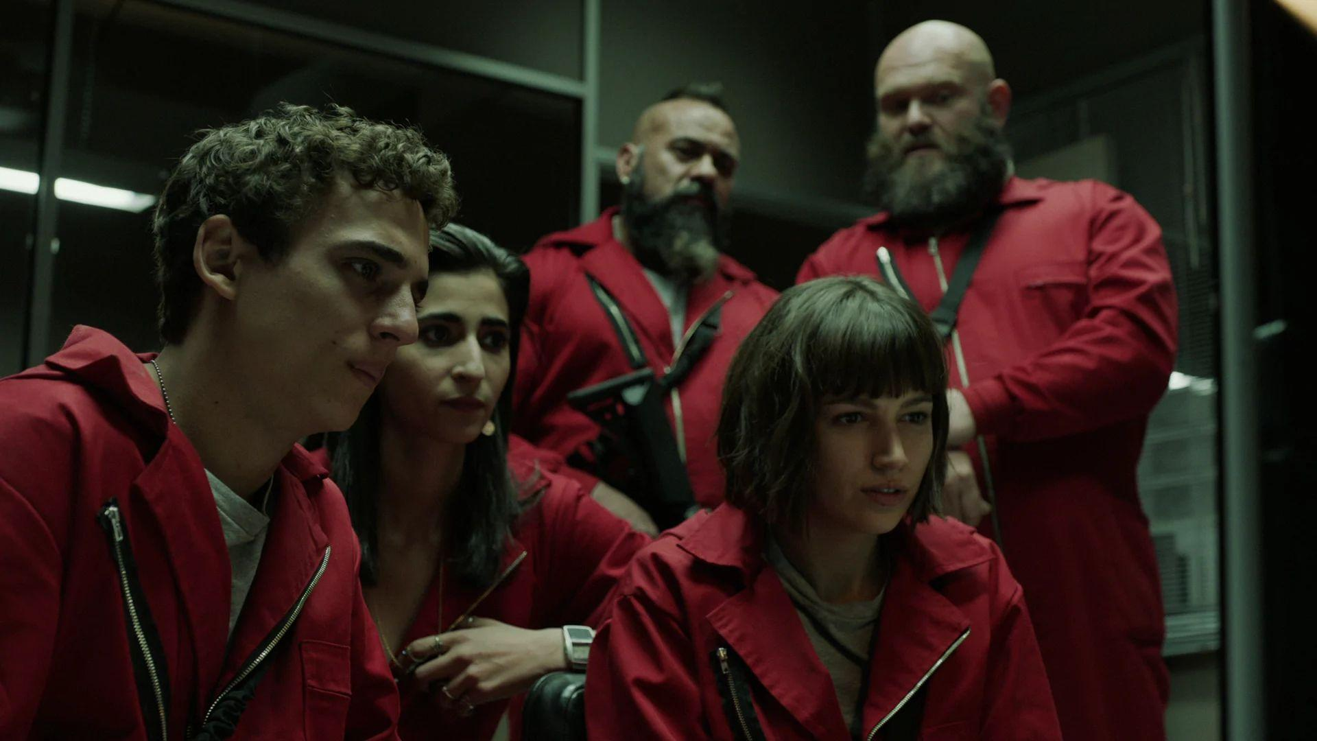 La Casa De Papel 4k Wallpapers Wallpaper Cave
