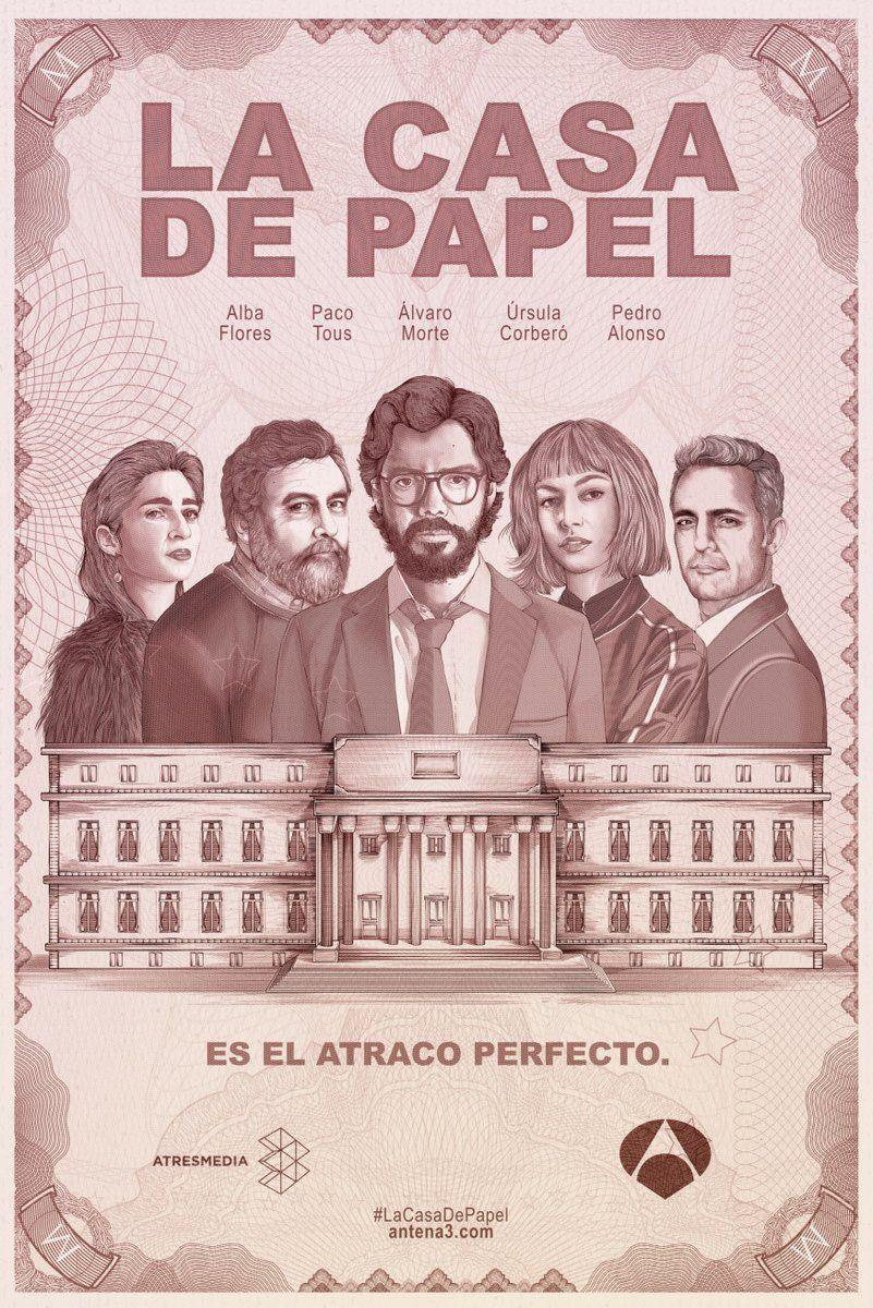 La Casa De Papel Money Heist Wallpapers Wallpaper Cave