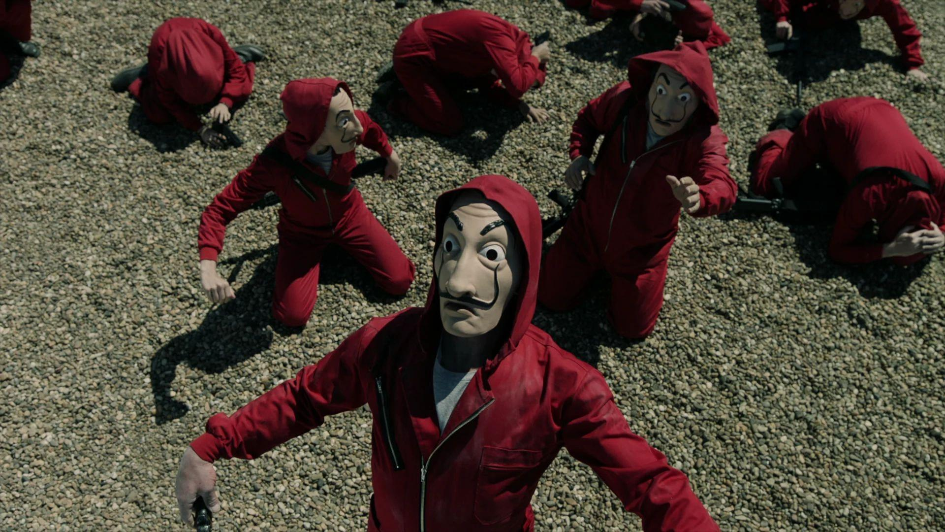 La Casa De Papel Wallpaper Cave