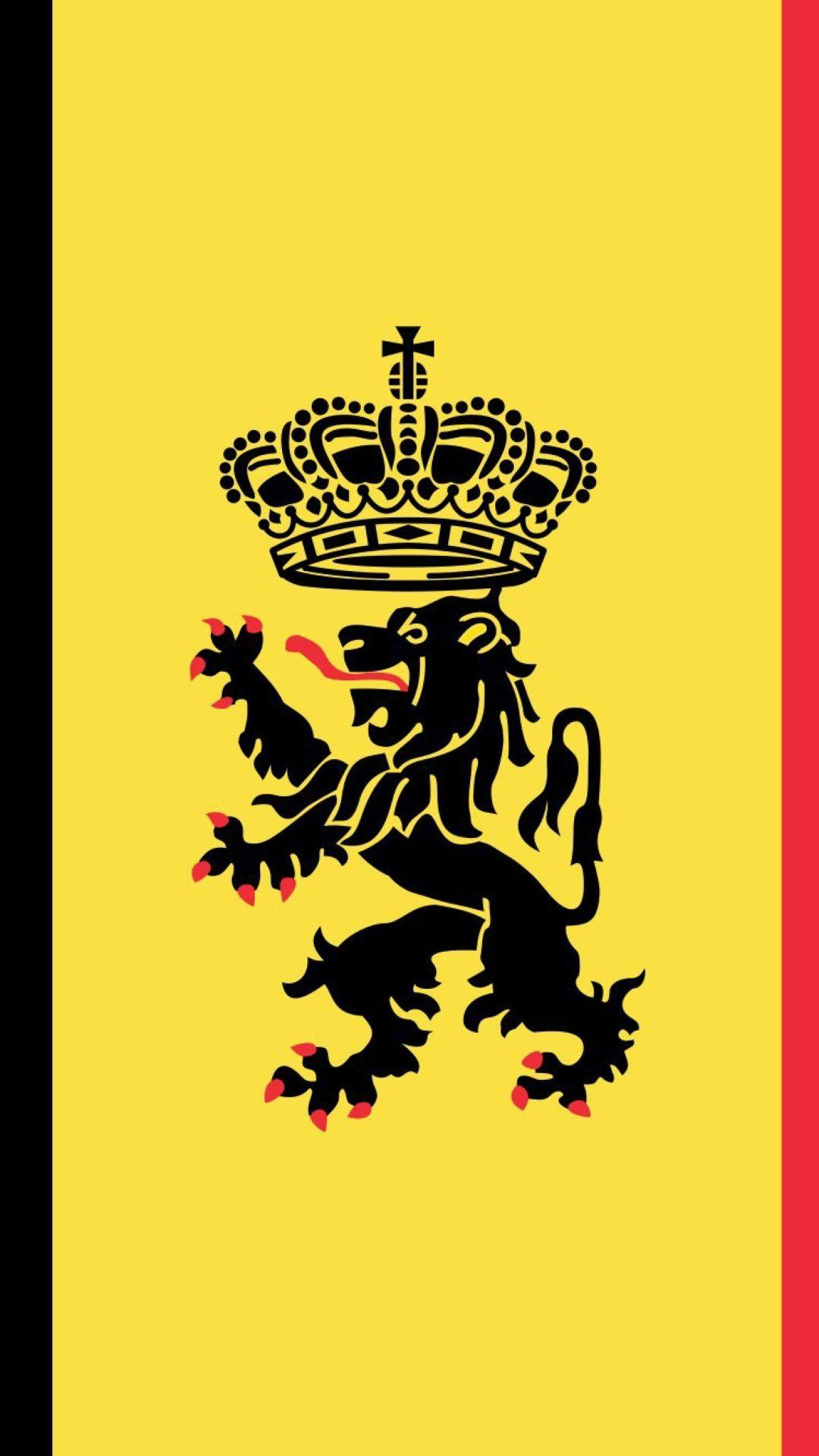 Belgium flag and gerb iphone wallpapers | iPhone Wallpapers