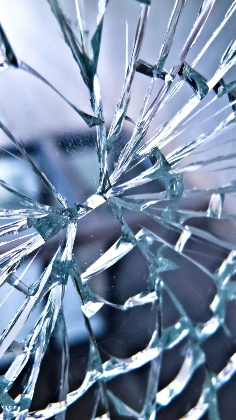 Cracked Glass Wallpapers - Wallpaper Cave