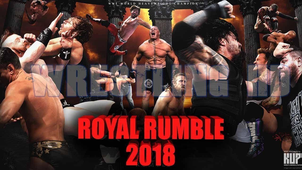 Royal Rumble 2018 Wallpapers Wallpaper Cave