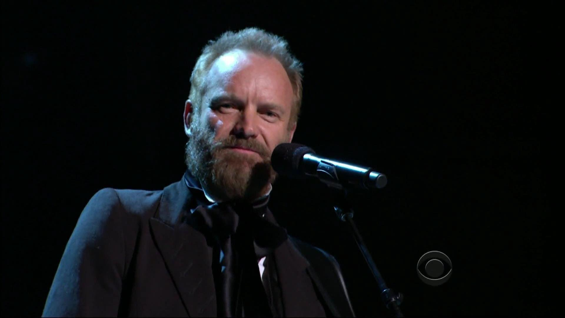 Sting - The Rising - Kennedy Center Honors Bruce Springsteen - YouTube