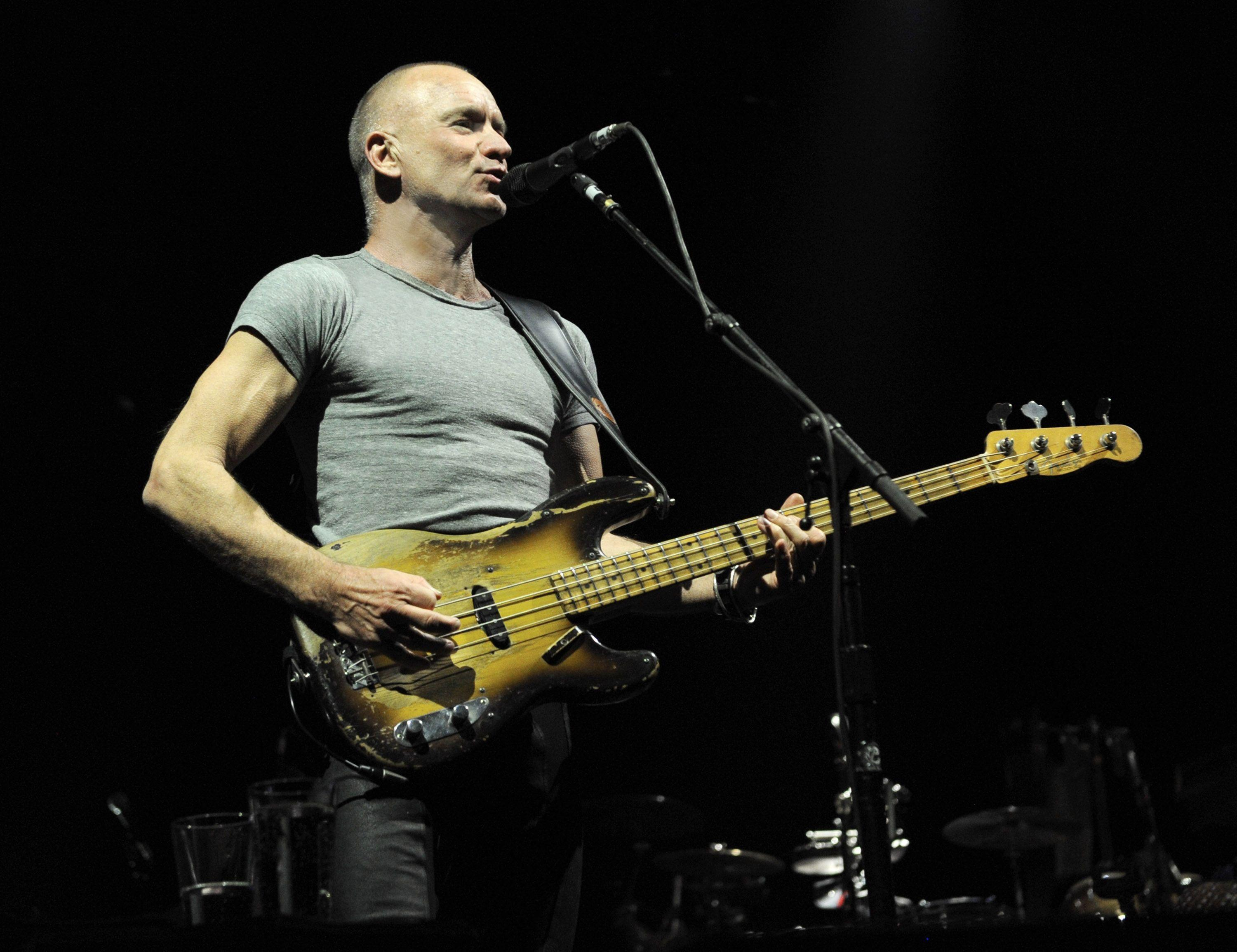 Sting's first pop album in 13 years will include songs about ...