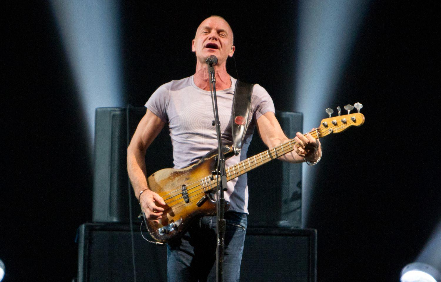 Sting Announces 2013 'Back To Bass' Tour « 98.7 KLUV