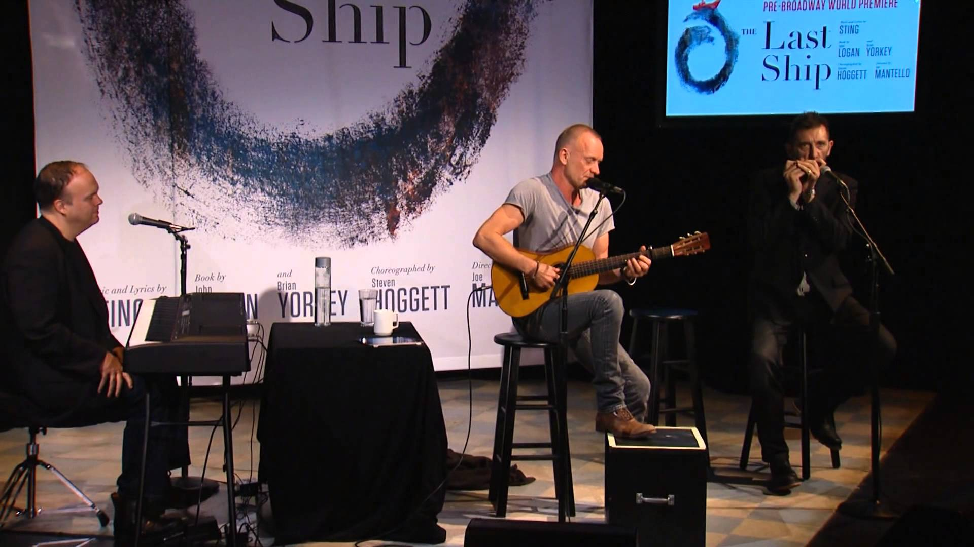 Sting Performs Songs from THE LAST SHIP, A World Premiere Musical ...