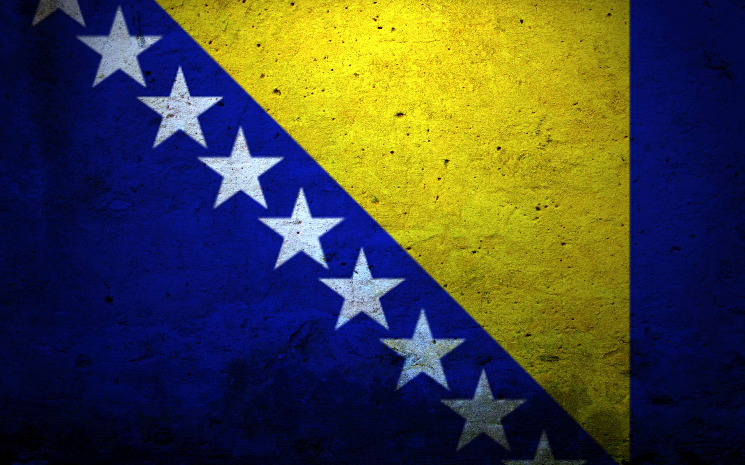 Bosnia And Herzegovina Flag Wallpaper | 2560x1600 | ID:55872 ...