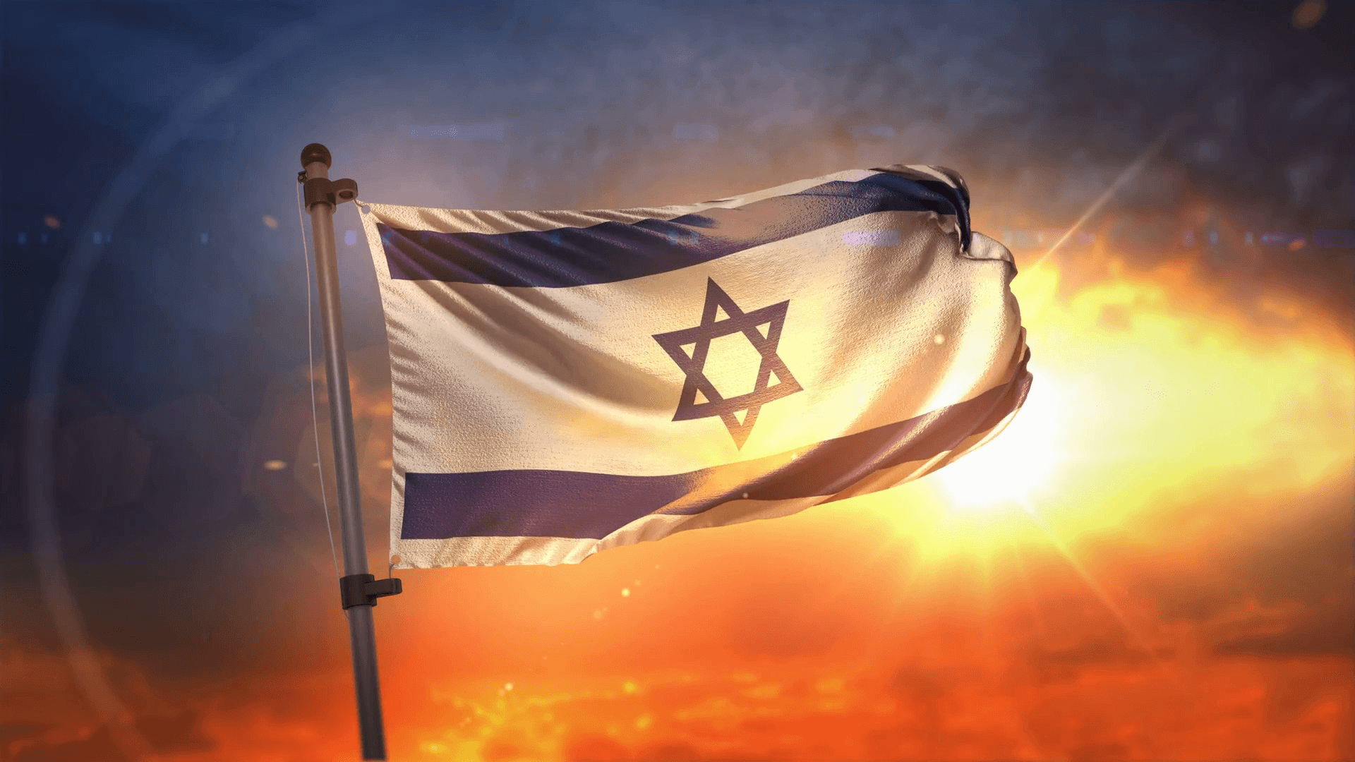 Photo Collection Israel Flag Sunset Wallpapers