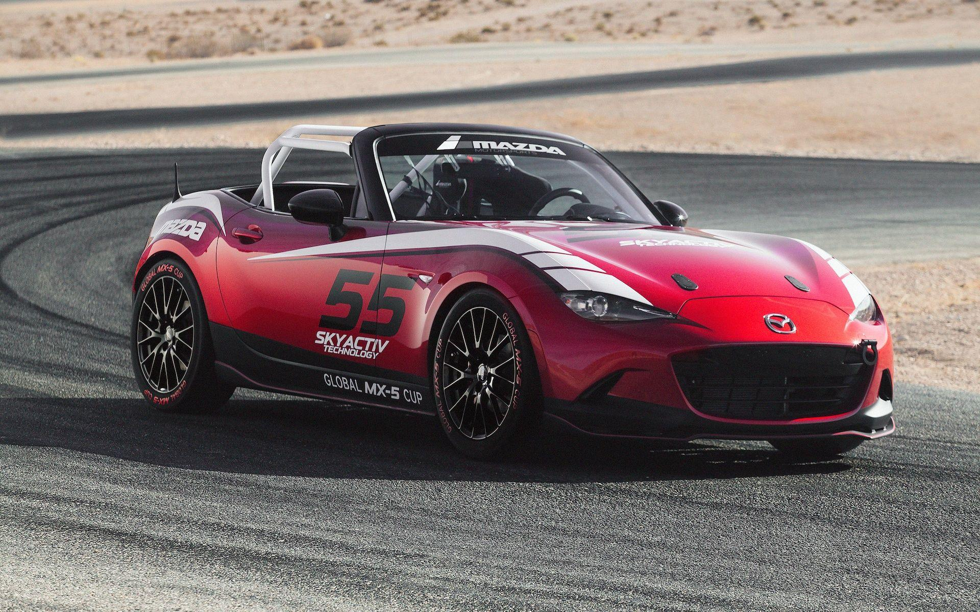 Red mazda mx 5 cup 2016 | Mazda wallpapers | Pinterest | Mazda and ...