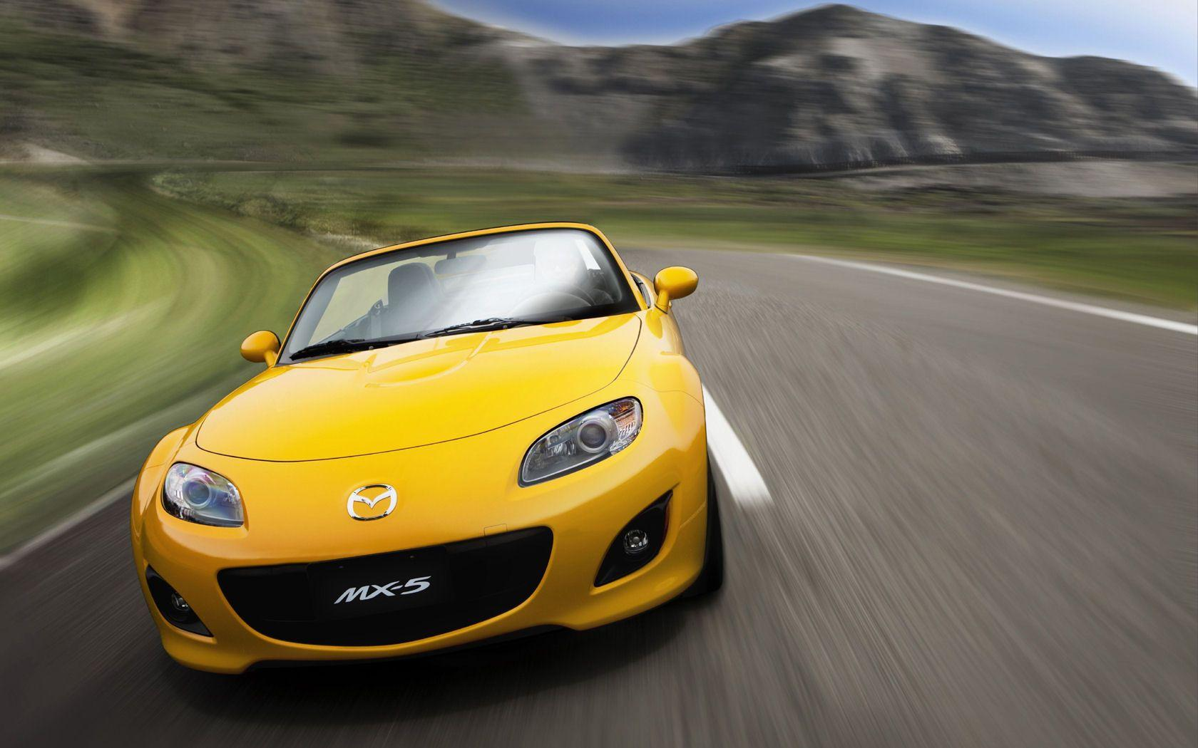 Mazda MX5 Miata, MX-5, Hardtop - Free Widescreen Wallpaper ...