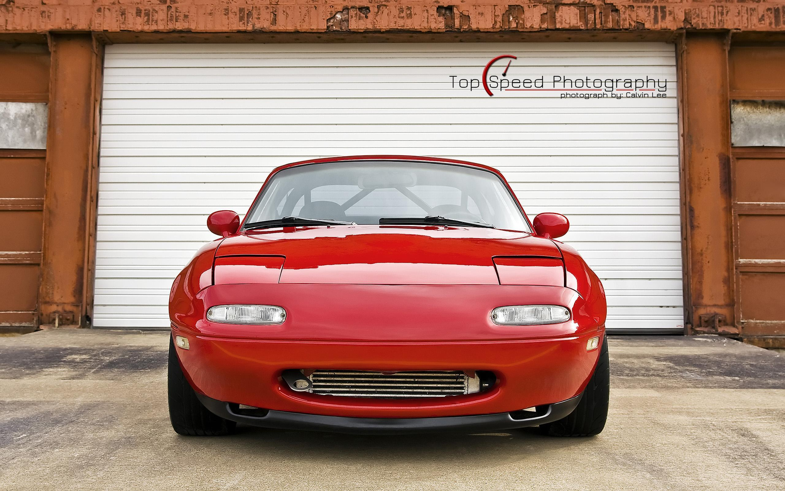 Red 1995 Mazda Miata wallpaper | cars | Wallpaper Better