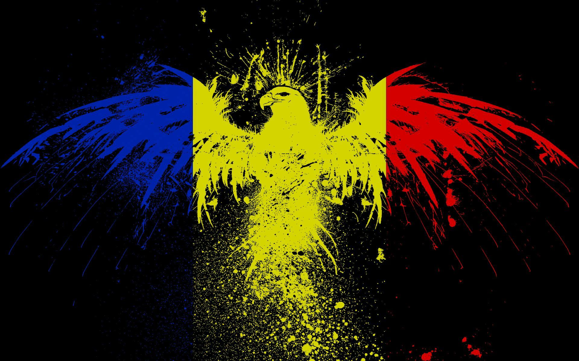 Eagles flags romania wallpapers